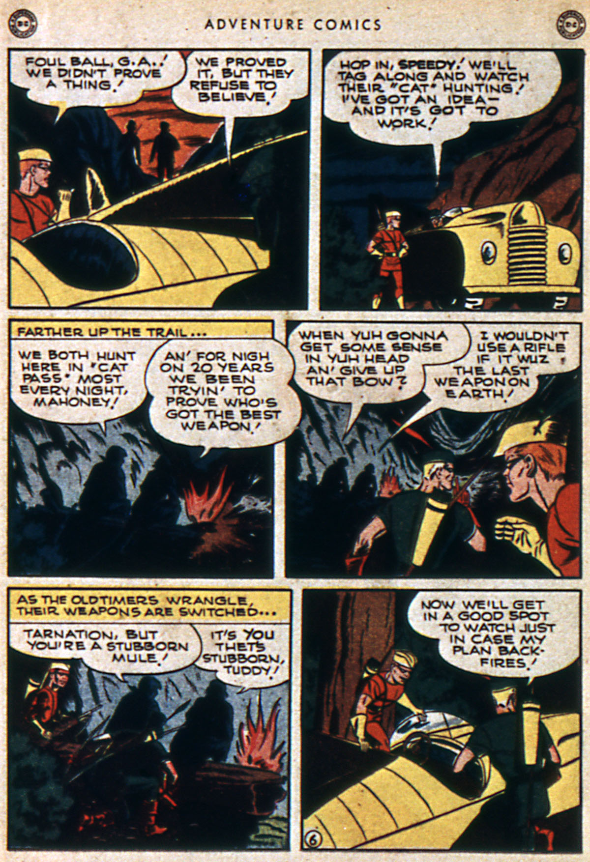 Read online Adventure Comics (1938) comic -  Issue #112 - 16