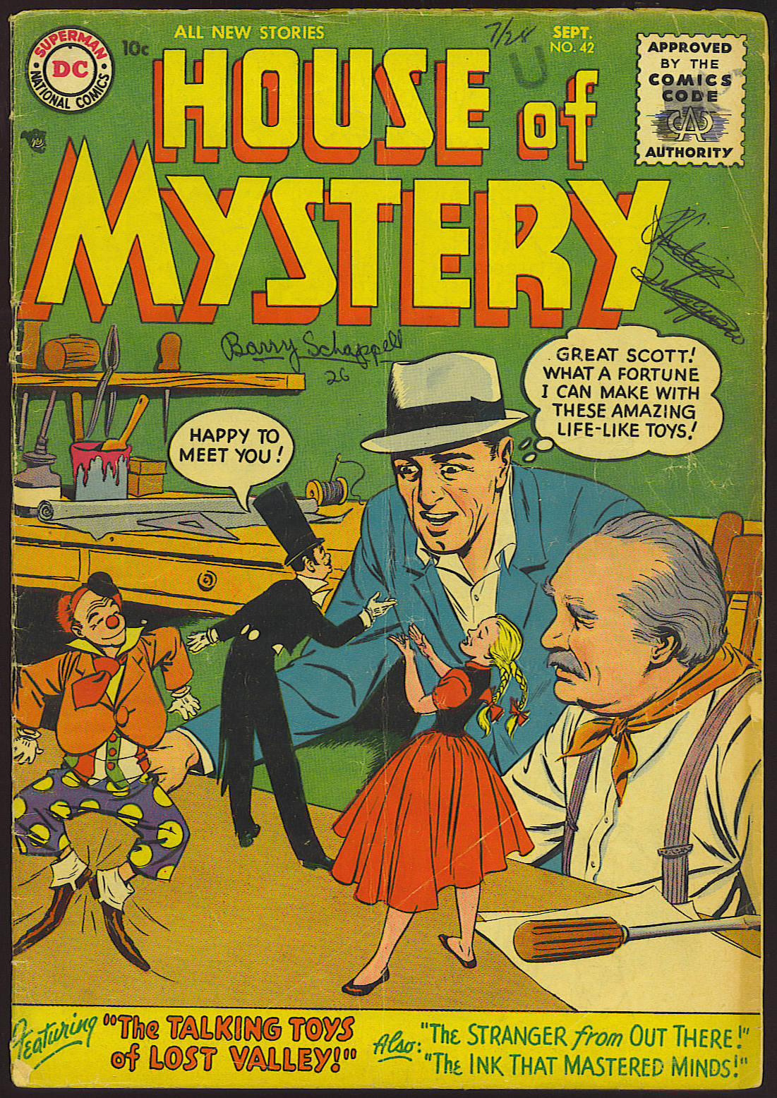 House of Mystery (1951) issue 42 - Page 1