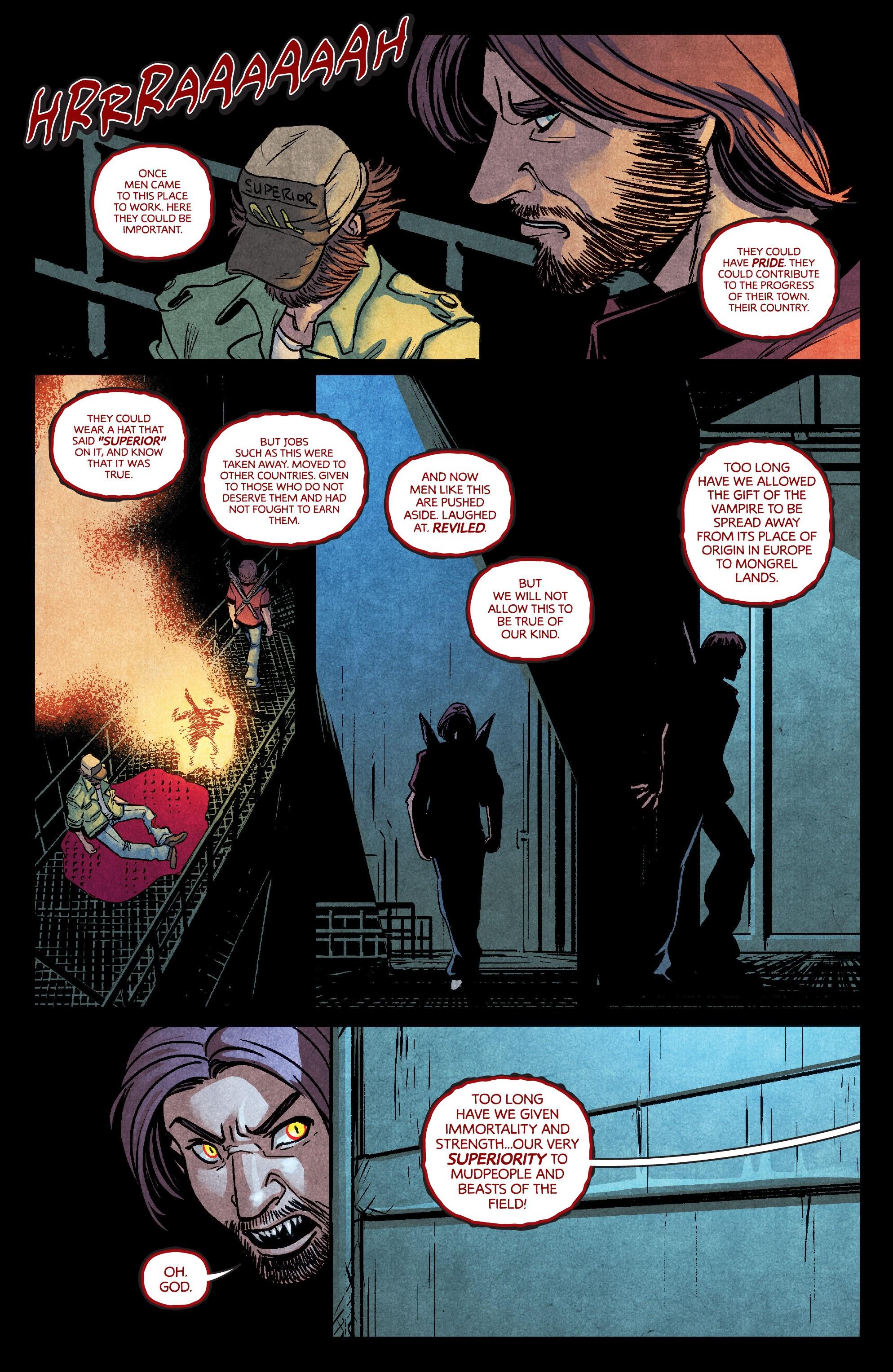 Read online Dark Red comic -  Issue #4 - 21