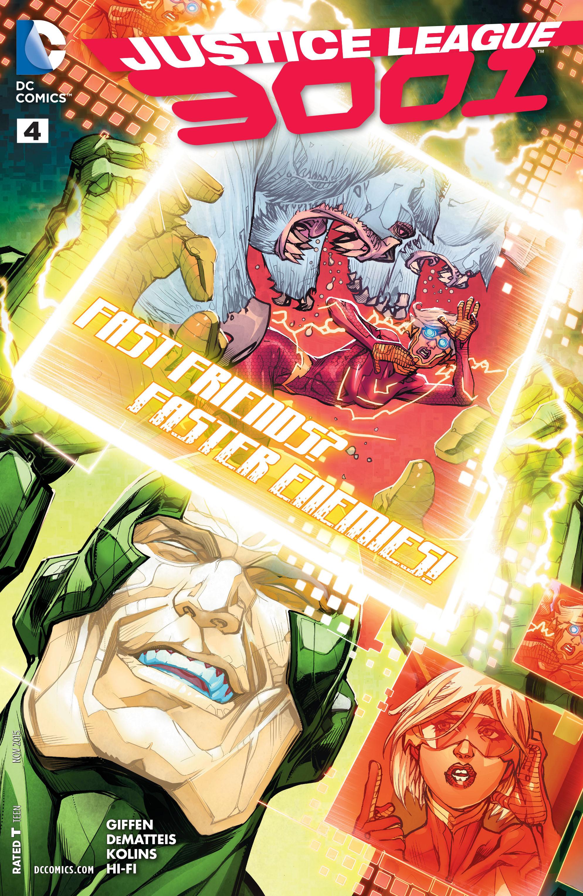 Justice League 3001 4 Page 1