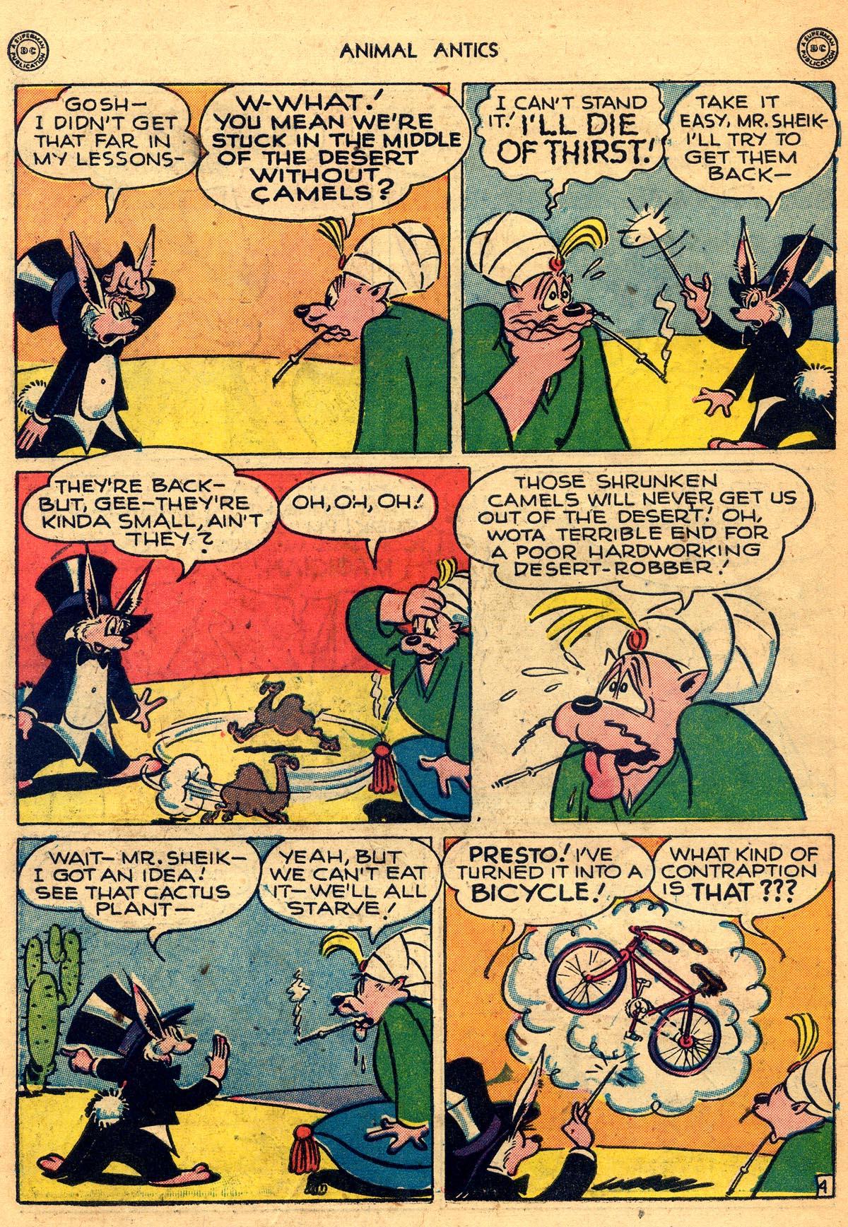 Read online Animal Antics comic -  Issue #8 - 44