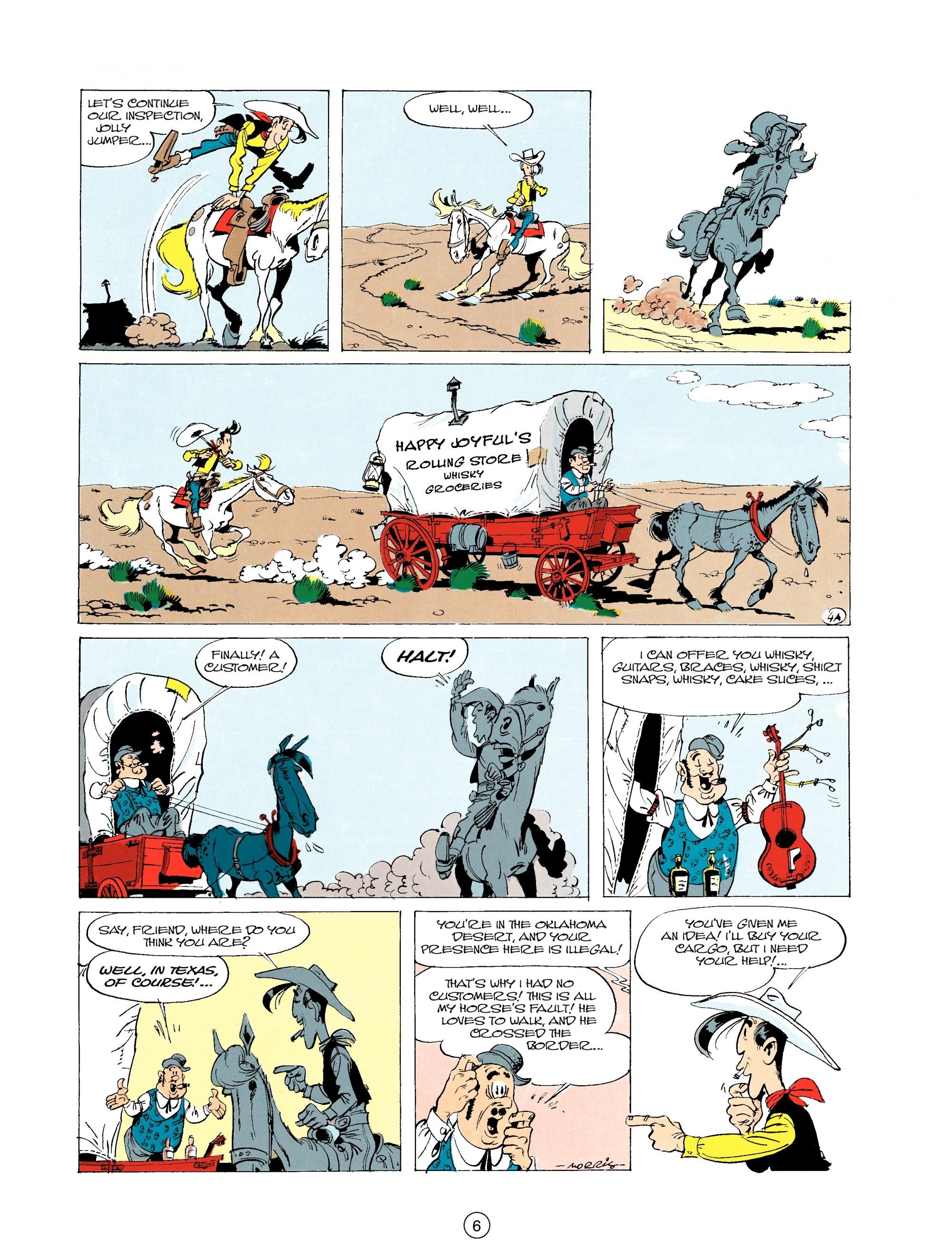 Read online A Lucky Luke Adventure comic -  Issue #20 - 6