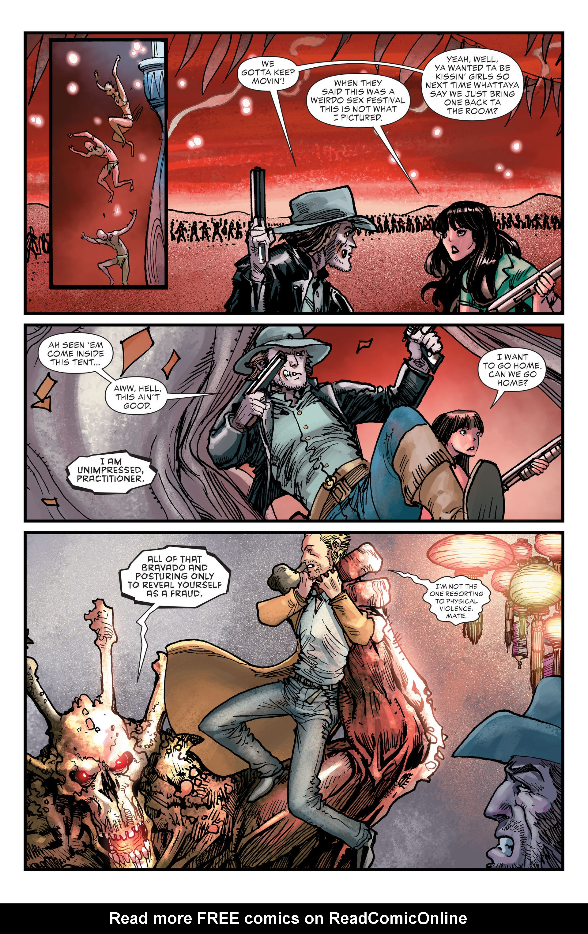 Read online All-Star Western (2011) comic -  Issue #25 - 6