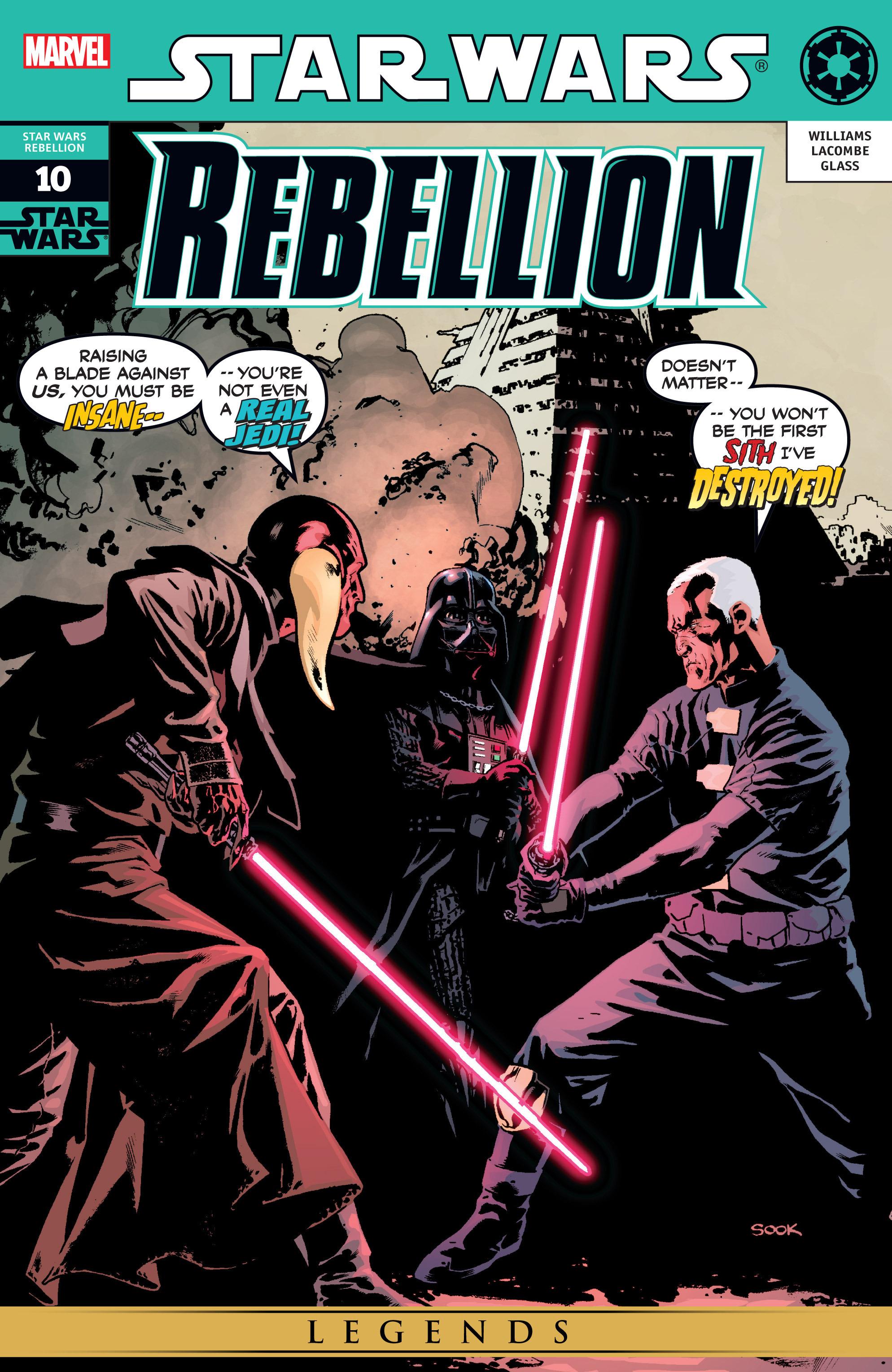 Star Wars: Rebellion 10 Page 1