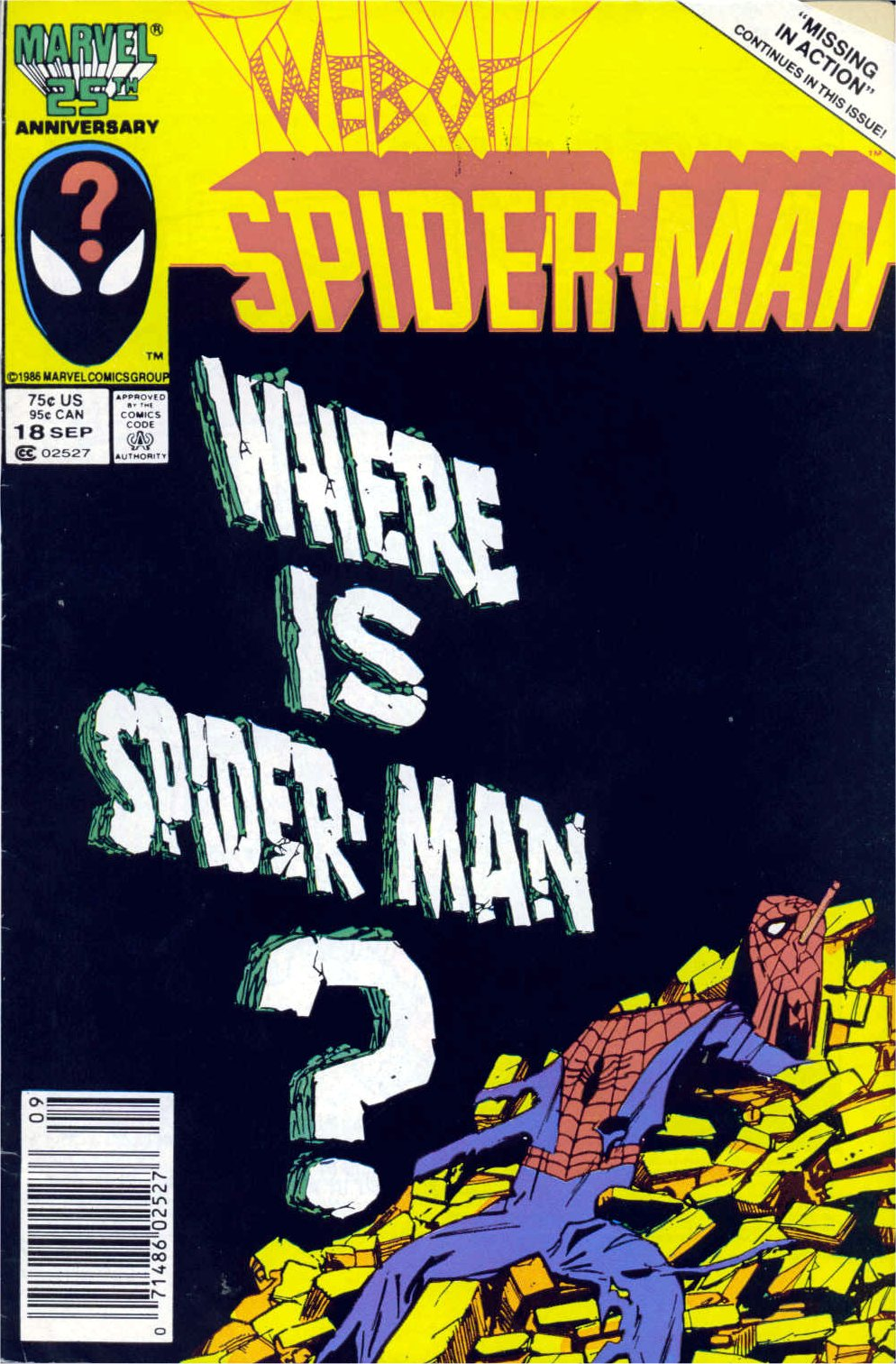 Web of Spider-Man (1985) 18 Page 1