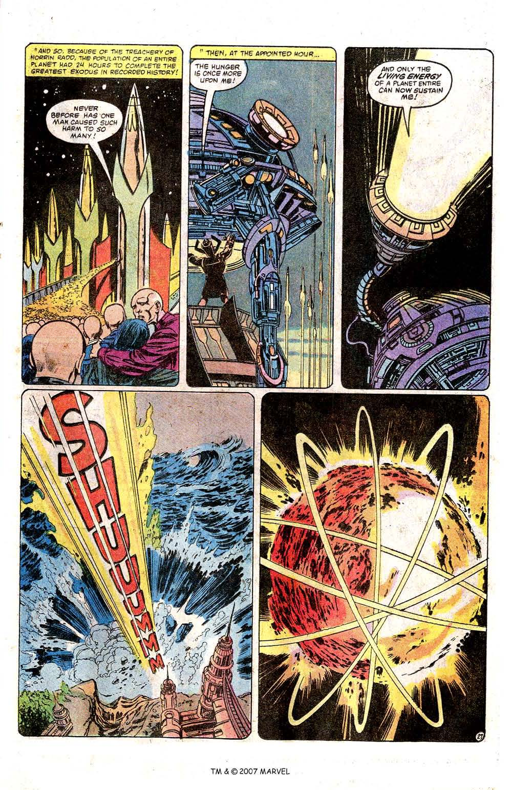 Read online Silver Surfer (1982) comic -  Issue # Full - 29