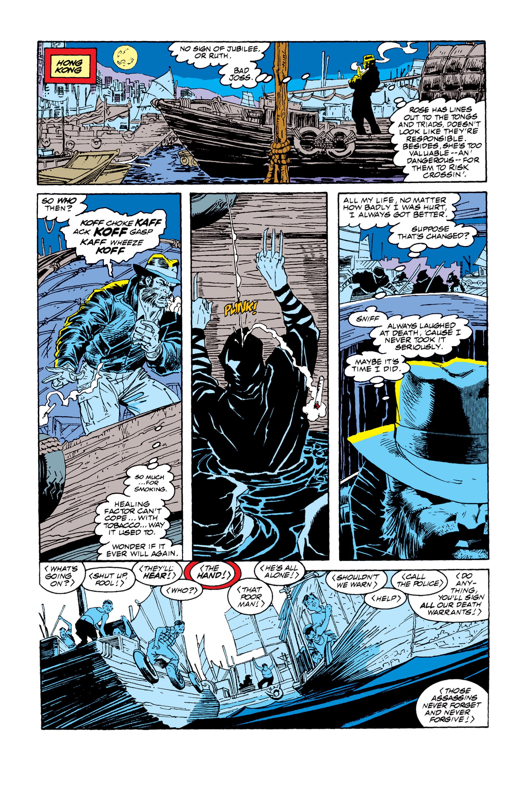 Read online Uncanny X-Men (1963) comic -  Issue #257 - 19
