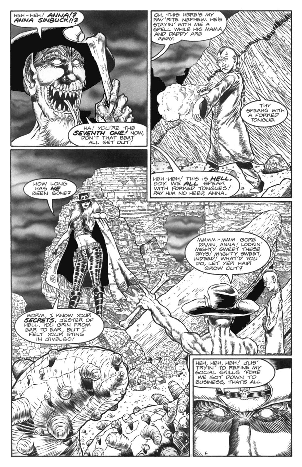 Read online Gunfighters in Hell comic -  Issue #4 - 7