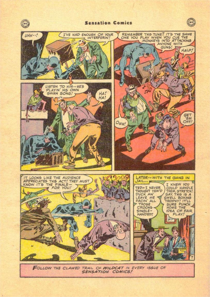 Read online Sensation (Mystery) Comics comic -  Issue #84 - 50