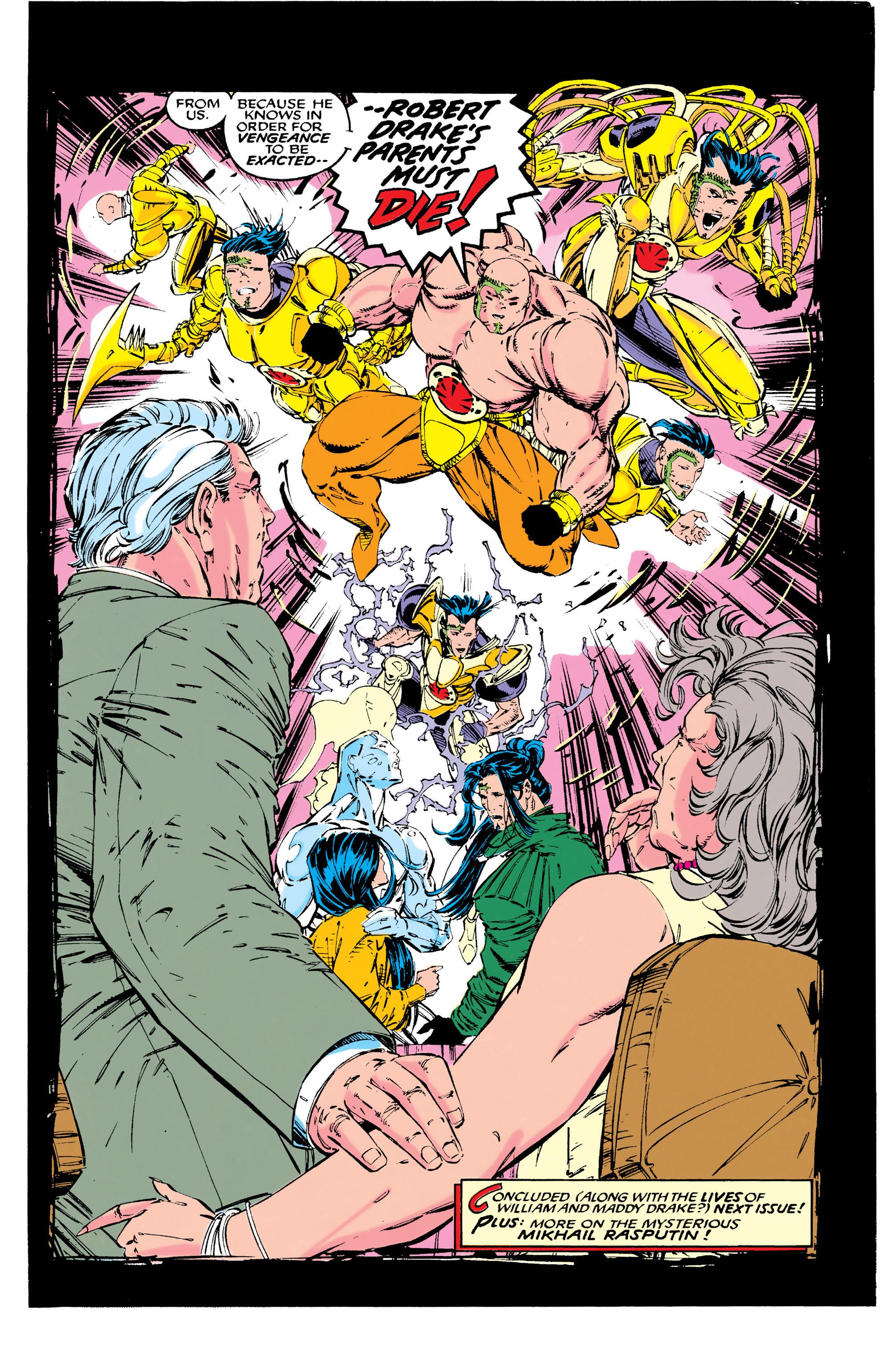 Read online Uncanny X-Men (1963) comic -  Issue #289 - 22