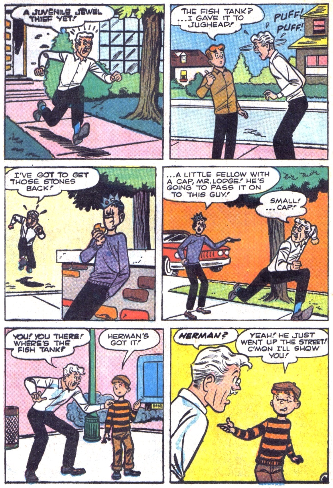 Read online Archie (1960) comic -  Issue #161 - 32