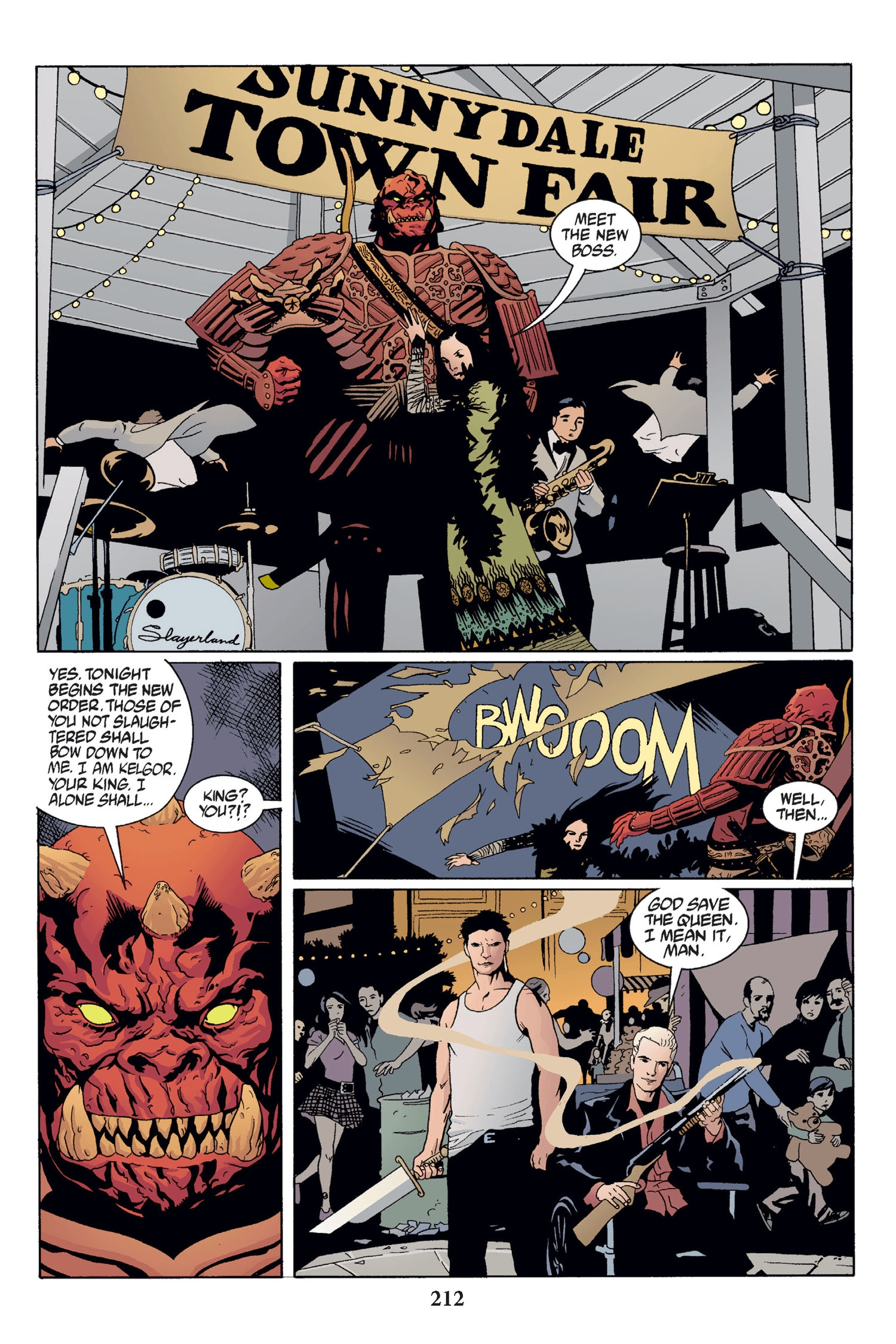 Read online Buffy the Vampire Slayer: Omnibus comic -  Issue # TPB 2 - 206