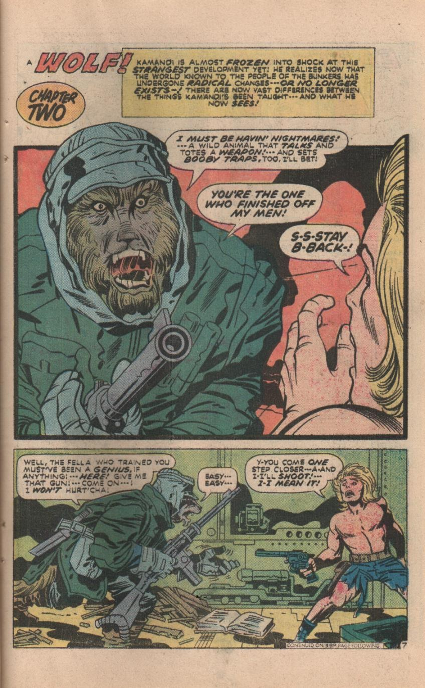 Kamandi, The Last Boy On Earth issue 32 - Page 36