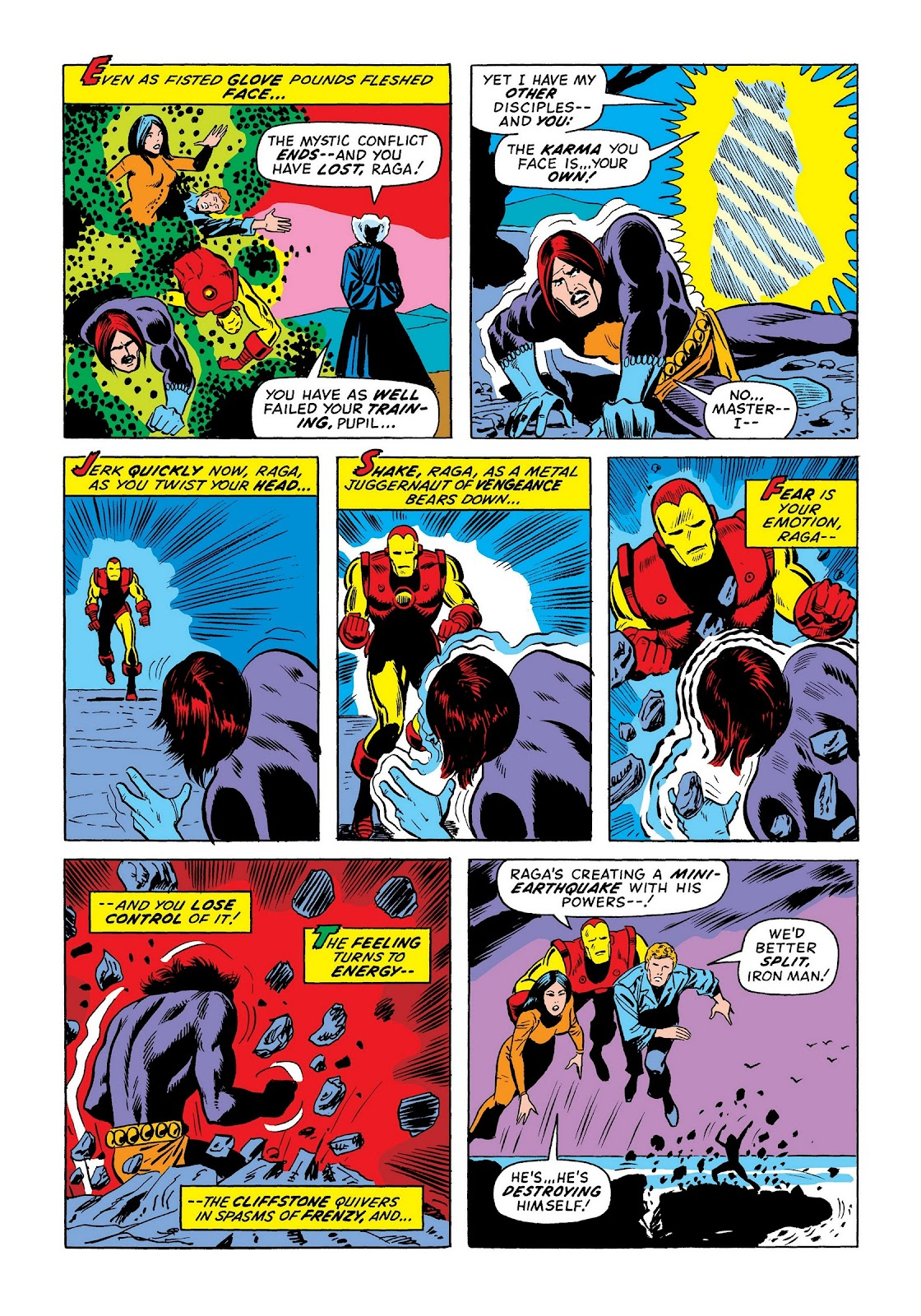 Read online Marvel Masterworks: The Invincible Iron Man comic -  Issue # TPB 8 (Part 3) - 113
