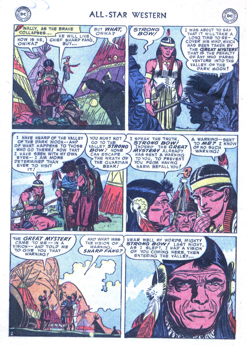 Read online All-Star Western (1951) comic -  Issue #77 - 12