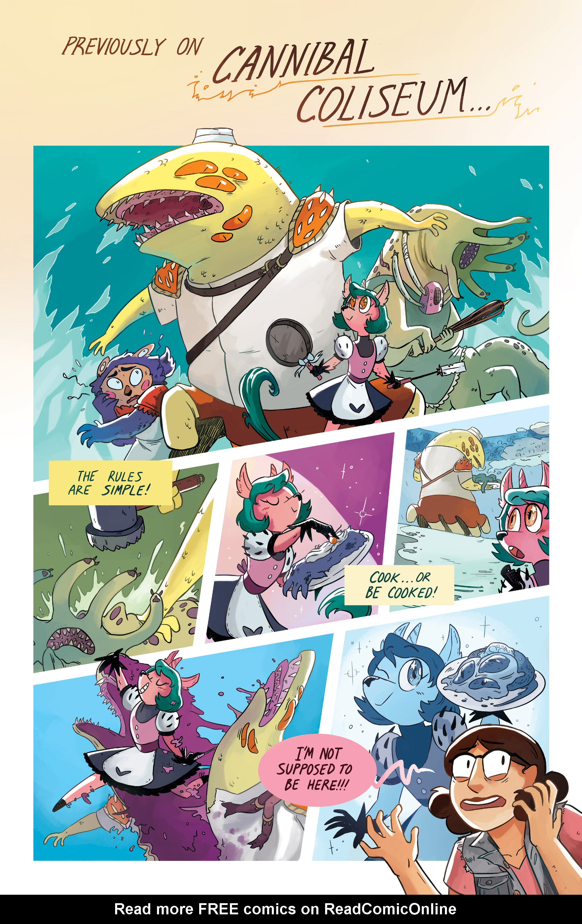 Read online Space Battle Lunchtime comic -  Issue #6 - 3