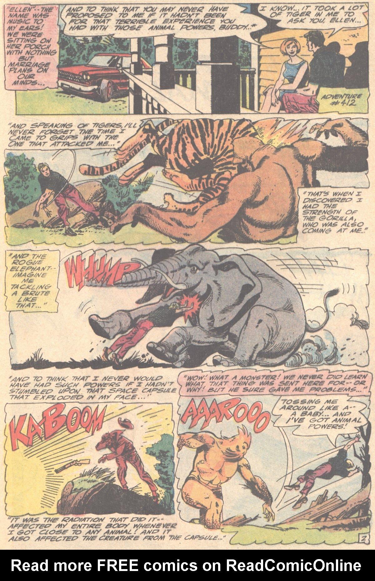Read online Adventure Comics (1938) comic -  Issue #414 - 22