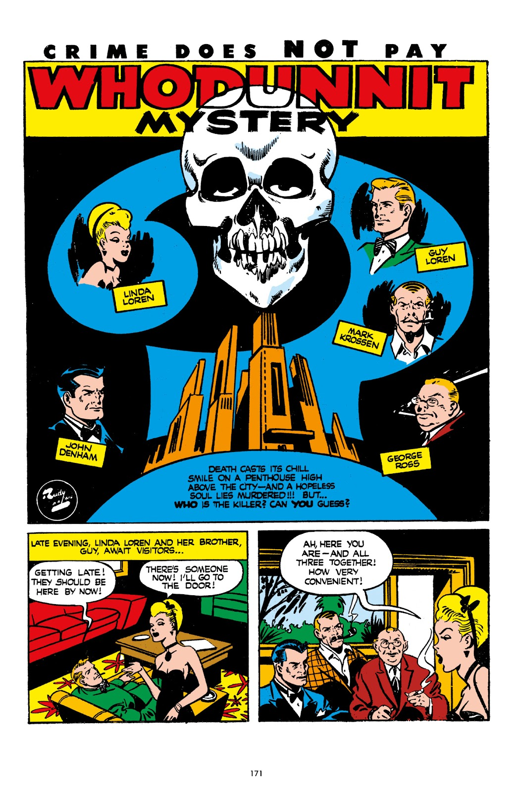 Read online Crime Does Not Pay Archives comic -  Issue # TPB 7 (Part 2) - 73