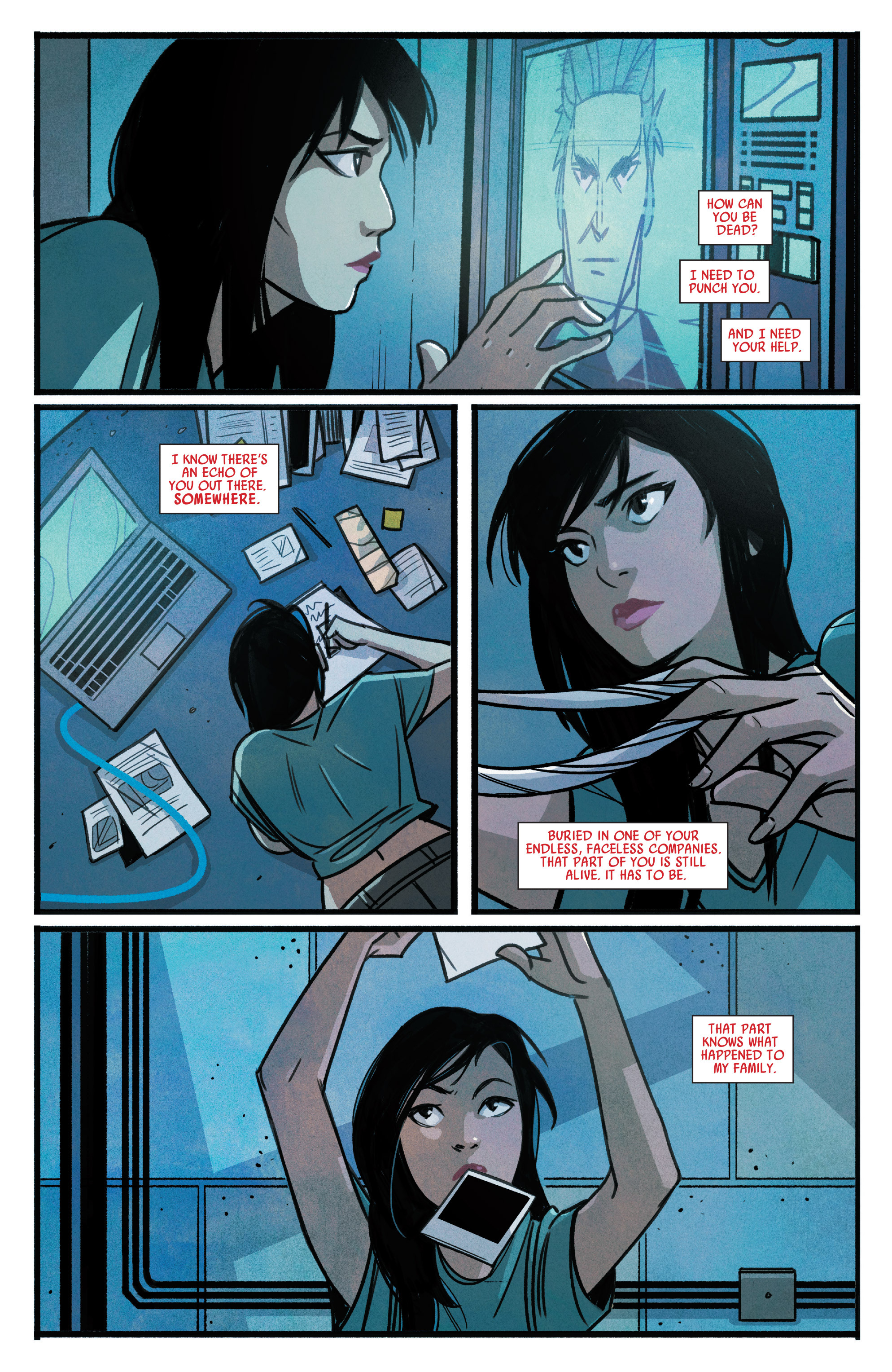 Read online Silk (2015) comic -  Issue #1 - 21