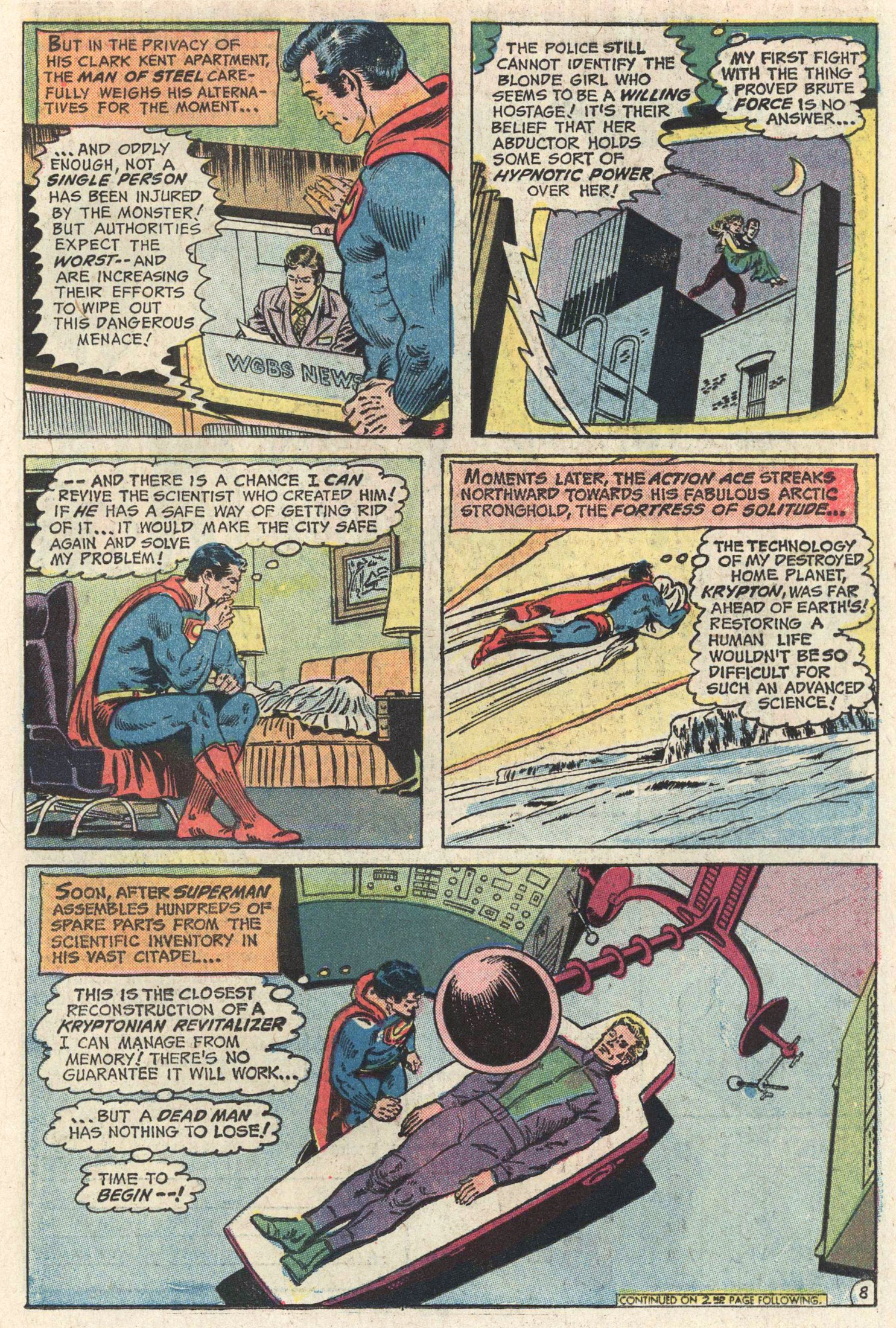Read online Action Comics (1938) comic -  Issue #415 - 10