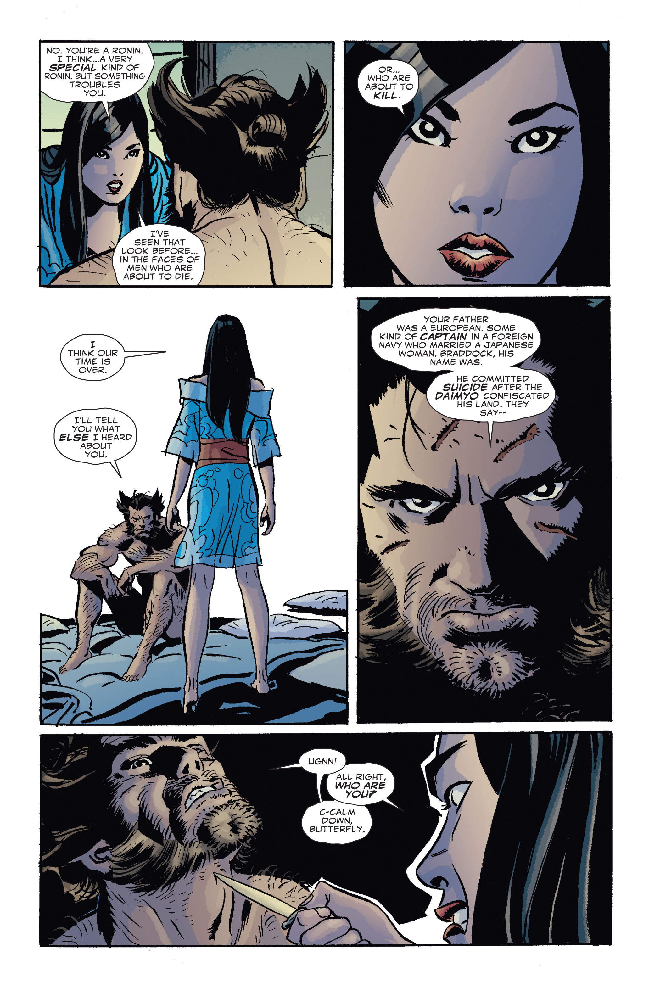 Read online 5 Ronin (2011) comic -  Issue #4 - 14
