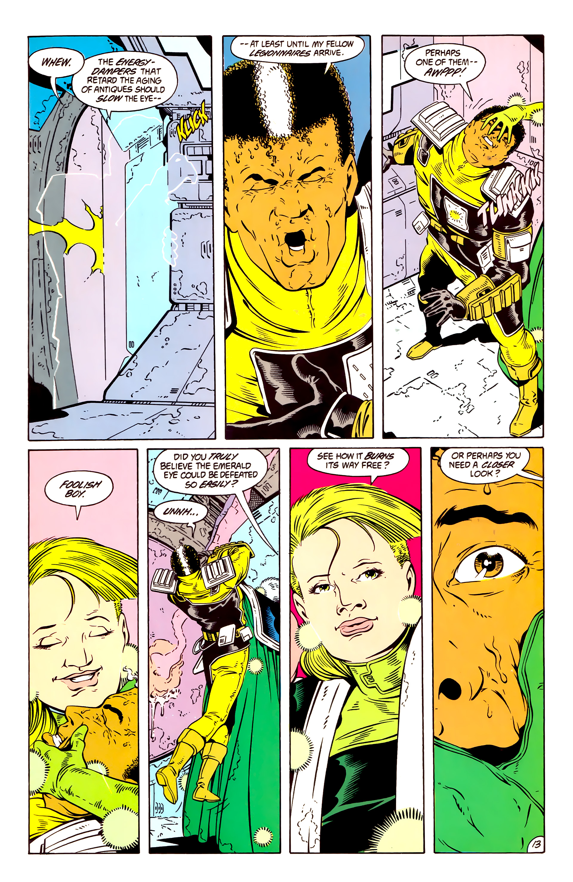 Legion of Super-Heroes (1984) 57 Page 13