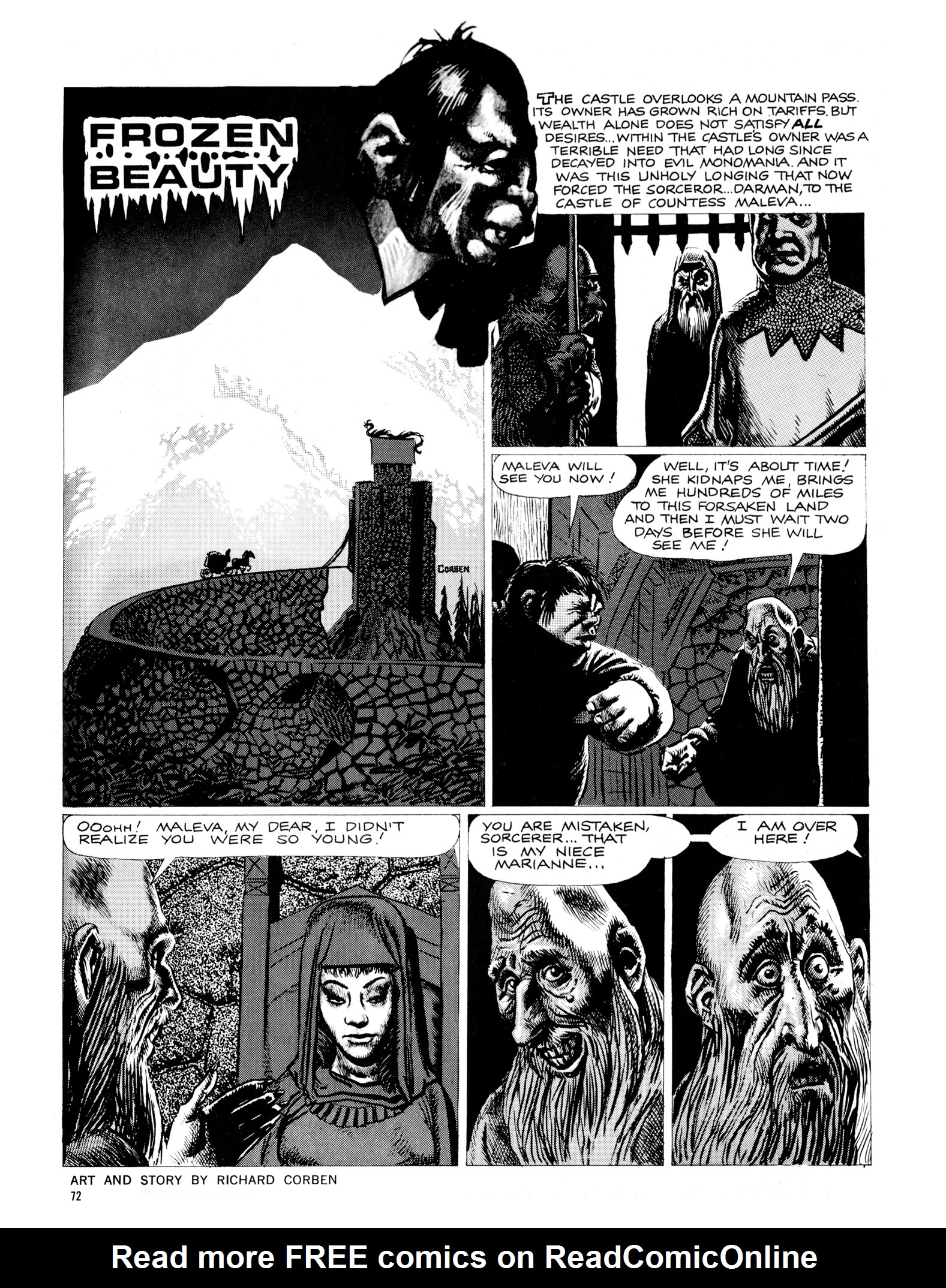 Read online Eerie Archives comic -  Issue # TPB 18 - 73