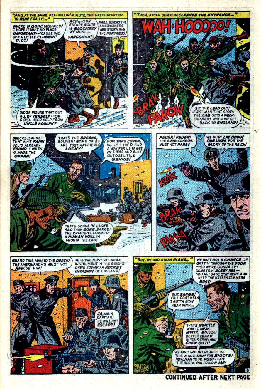 Read online Sgt. Fury comic -  Issue #44 - 18