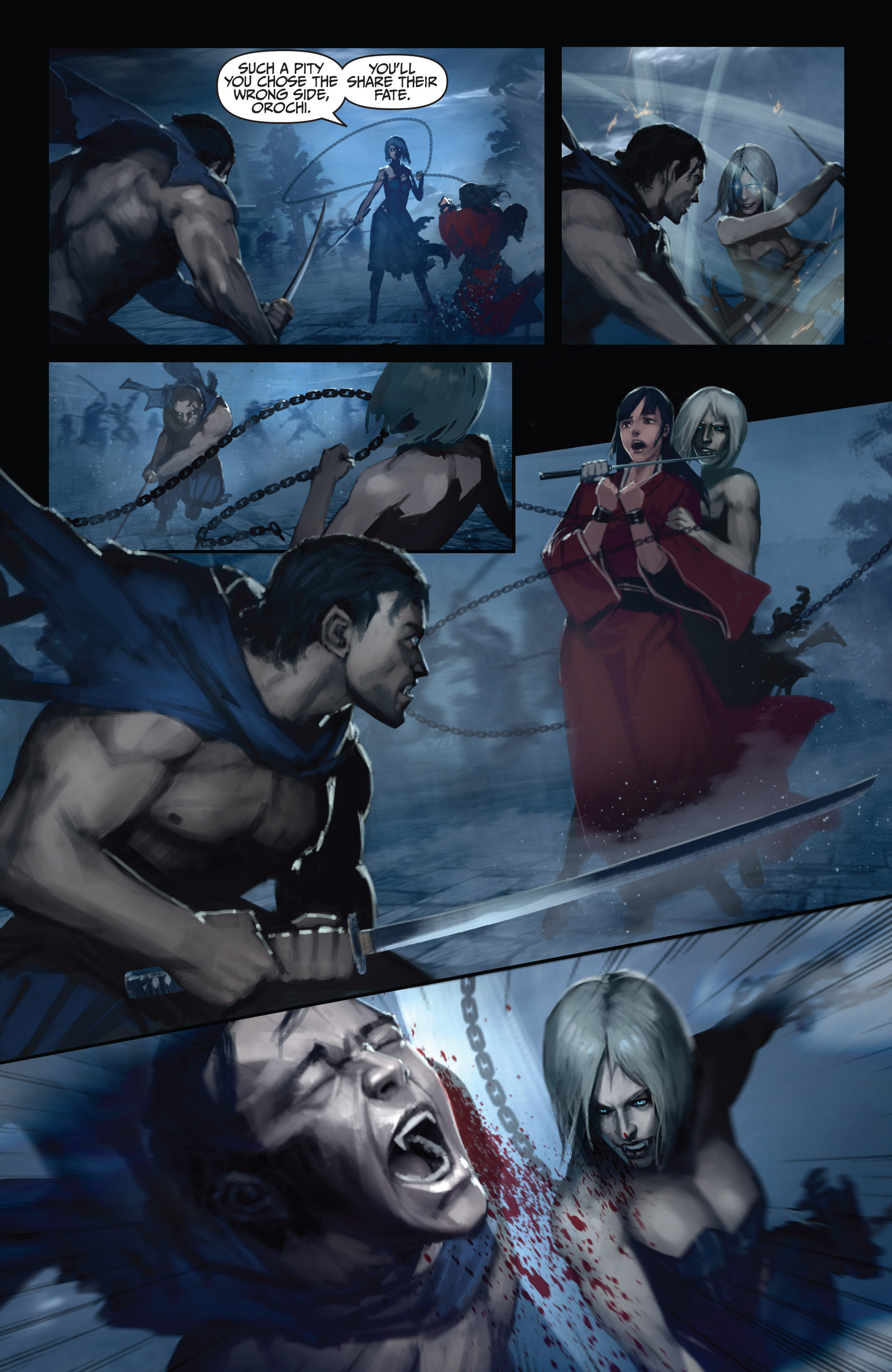 Read online Bushido: The Way of the Warrior comic -  Issue #5 - 13