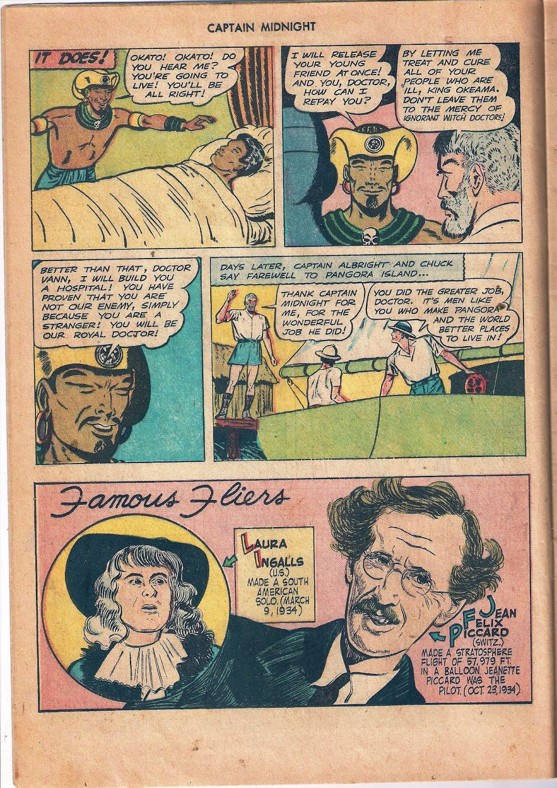 Captain Midnight (1942) issue 53 - Page 12