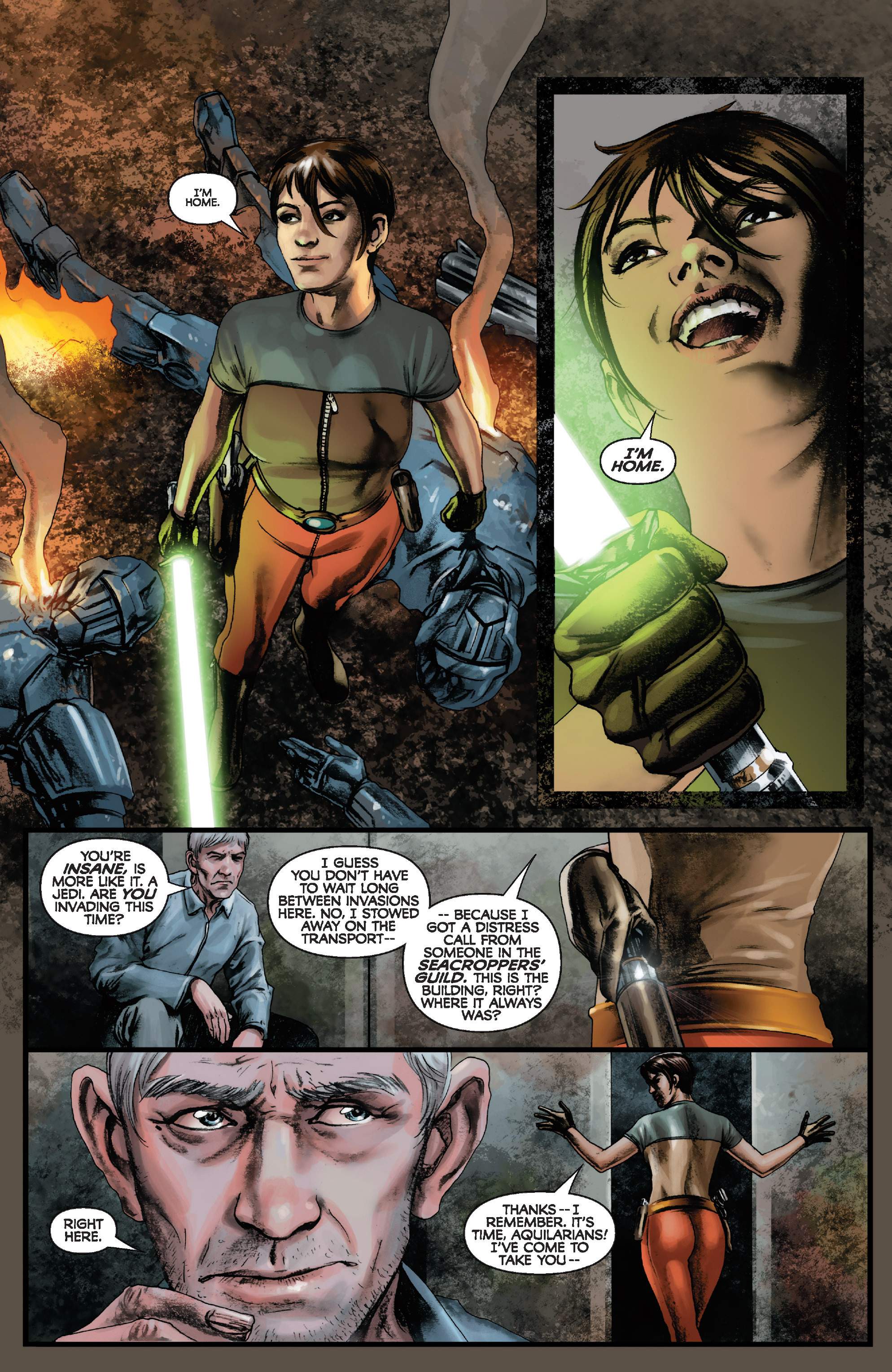 Read online Star Wars: Knight Errant - Deluge comic -  Issue #1 - 7
