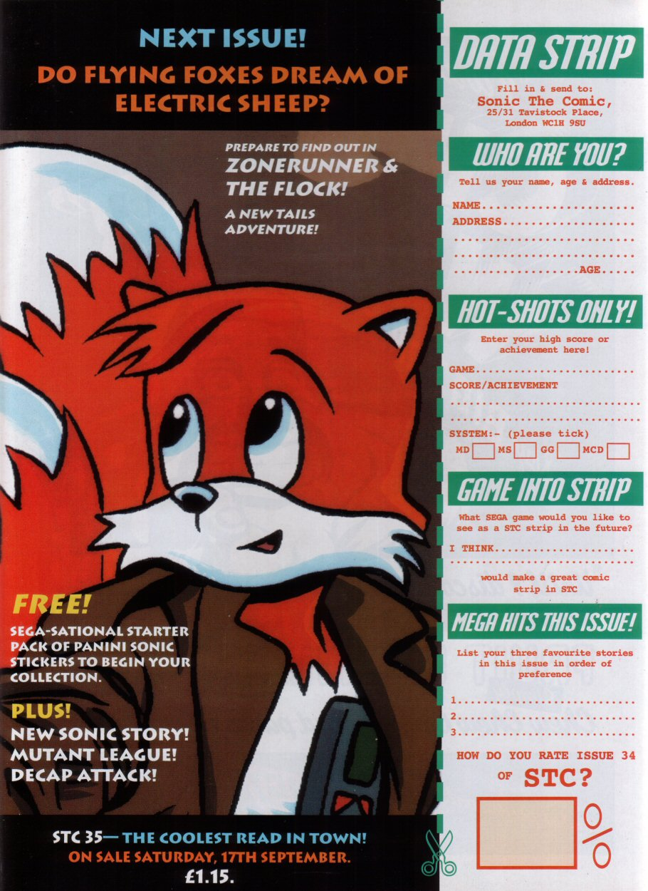 Read online Sonic the Comic comic -  Issue #34 - 32