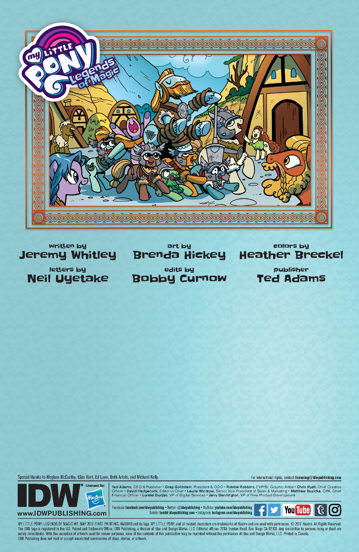 Read online My Little Pony: Legends of Magic comic -  Issue #2 - 2