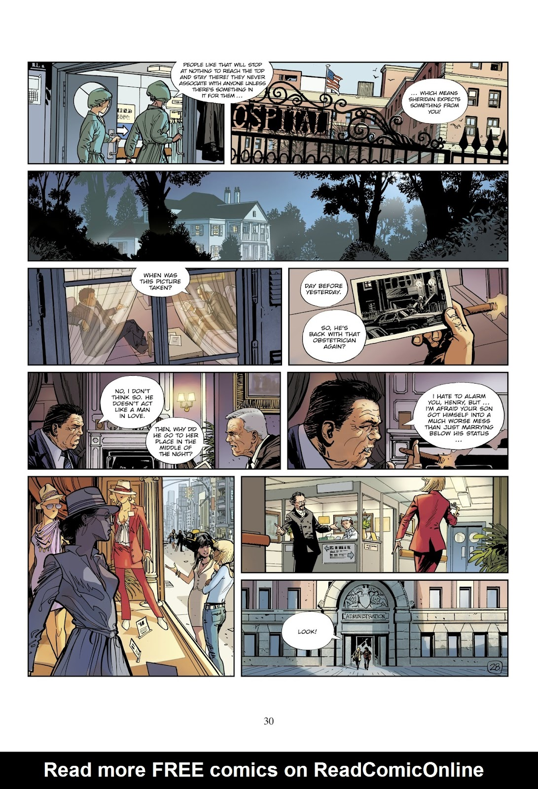 XIII Mystery issue 8 - Page 32
