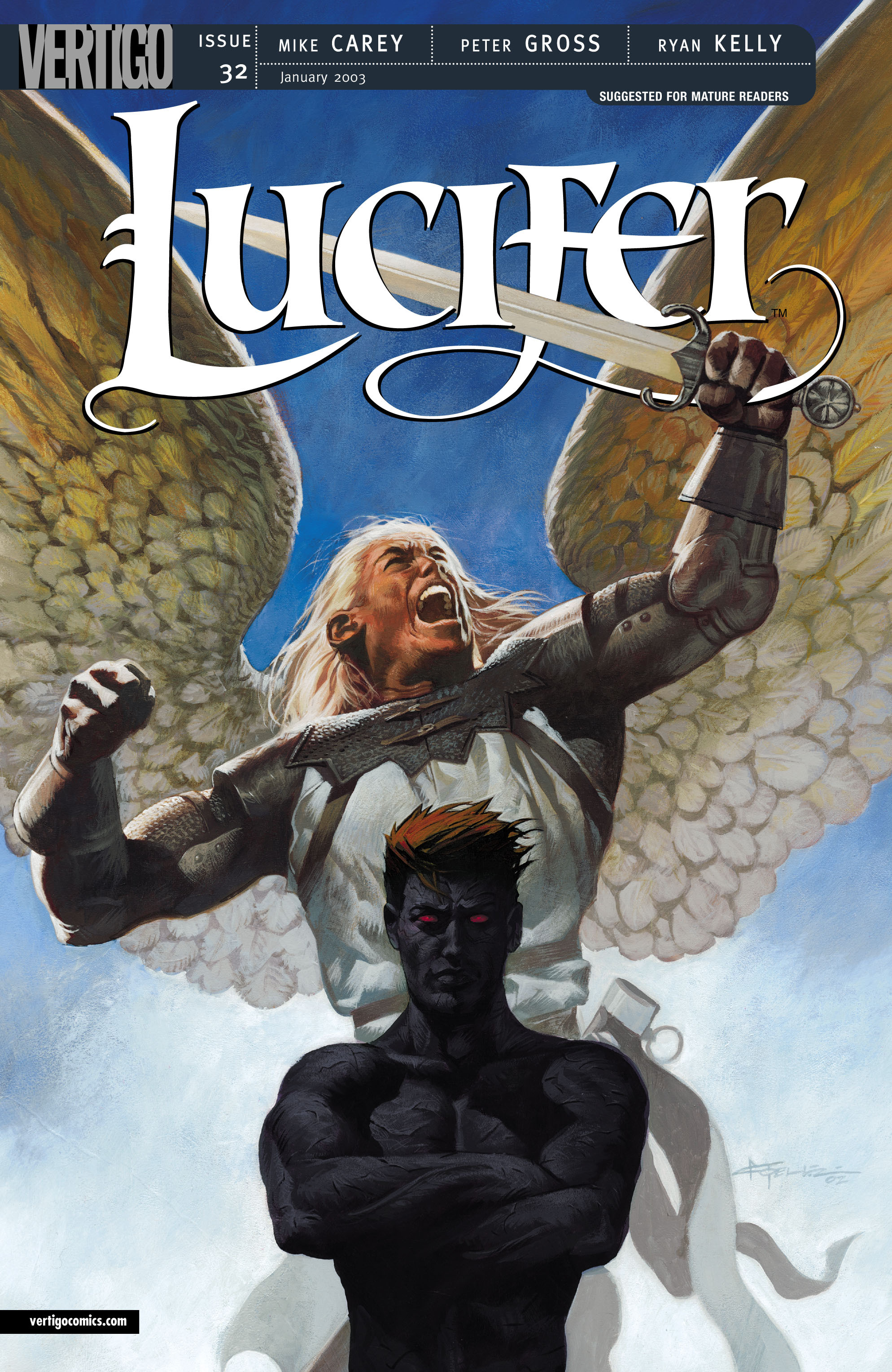 Lucifer (2000) issue 32 - Page 1