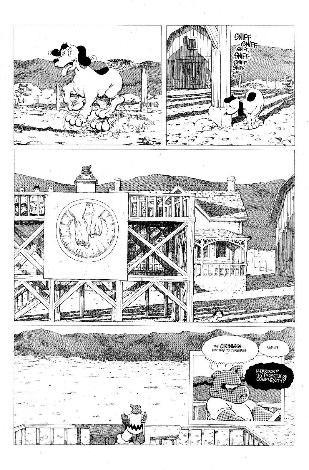 Cerebus Issue #275 #274 - English 11