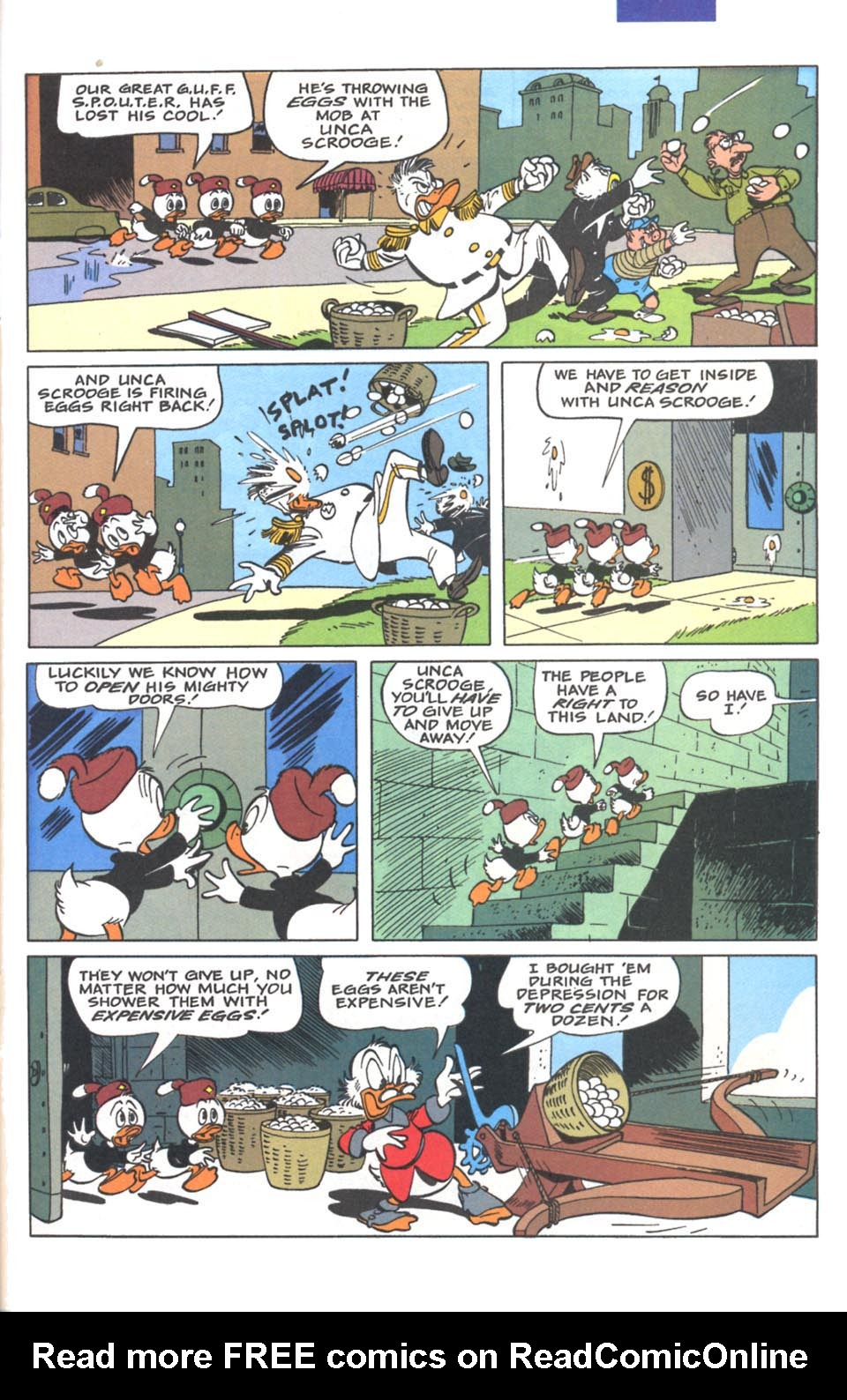 Read online Uncle Scrooge (1953) comic -  Issue #287 - 22