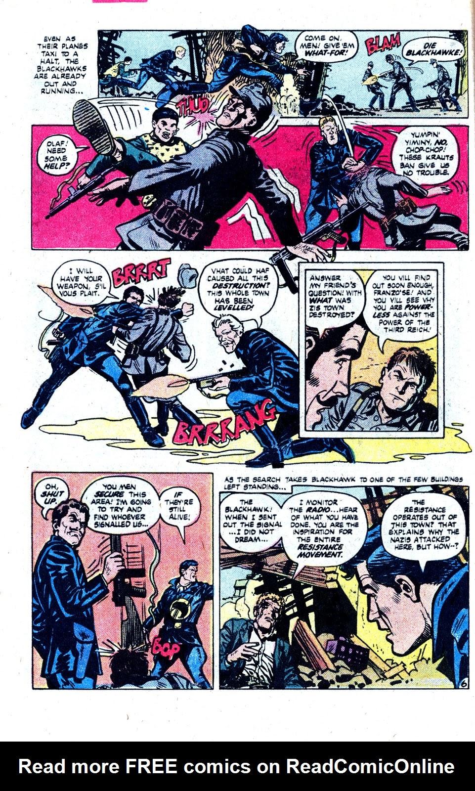 Read online Blackhawk (1957) comic -  Issue #252 - 9