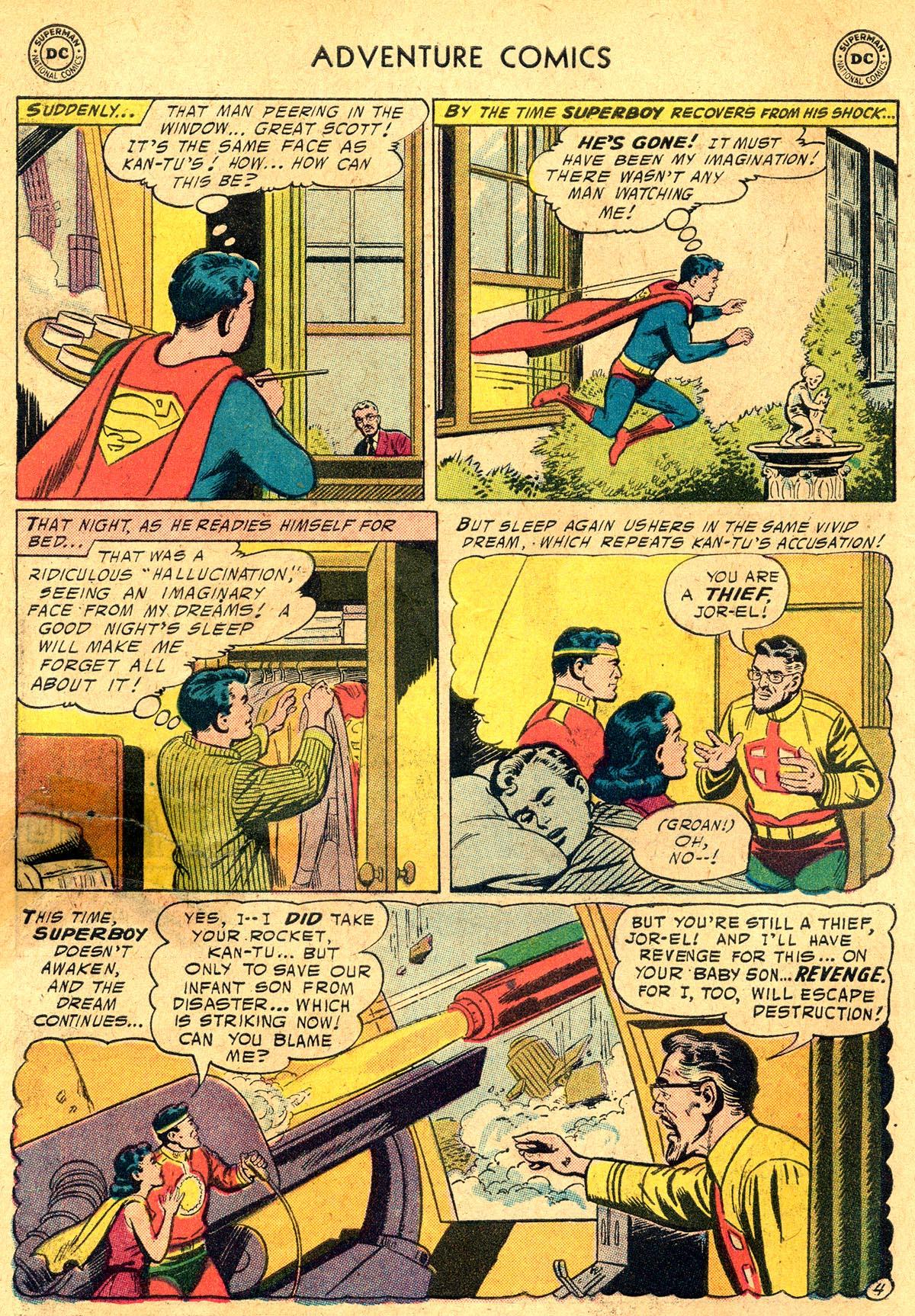 Read online Adventure Comics (1938) comic -  Issue #238 - 6