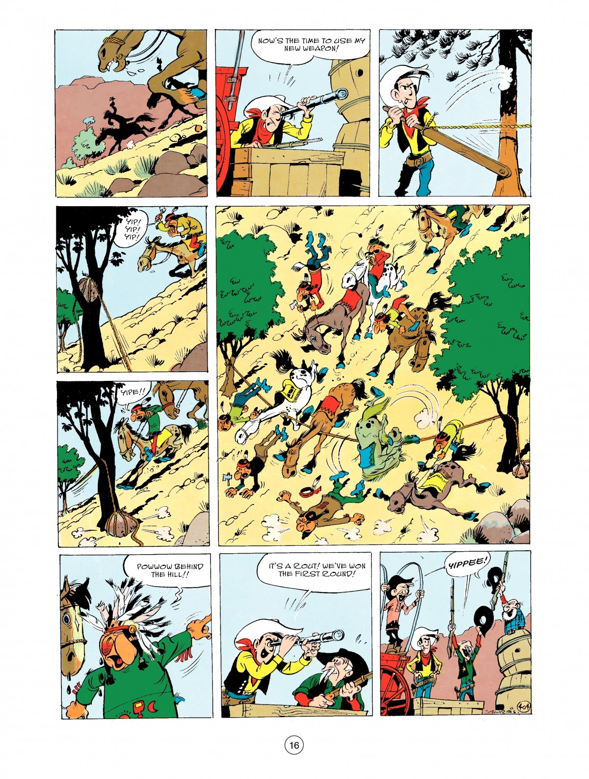 Read online A Lucky Luke Adventure comic -  Issue #43 - 16