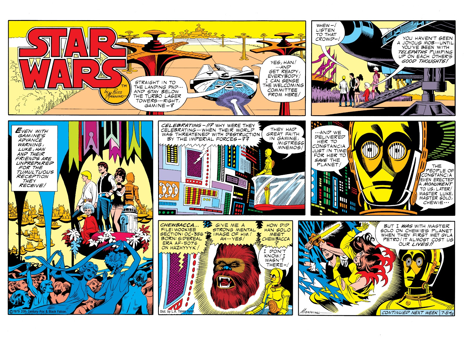 Read online Star Wars Legends: The Newspaper Strips - Epic Collection comic -  Issue # TPB (Part 1) - 25