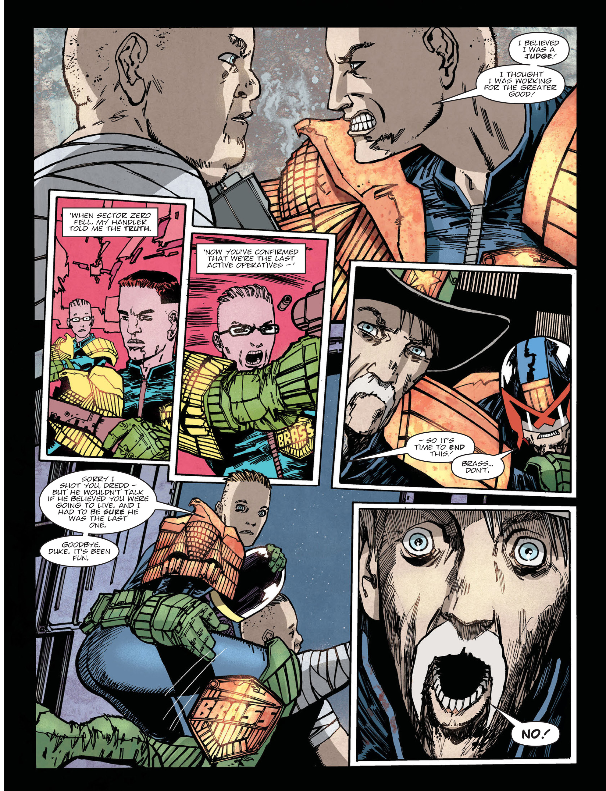 Read online 2000 AD comic -  Issue #2019 - 7