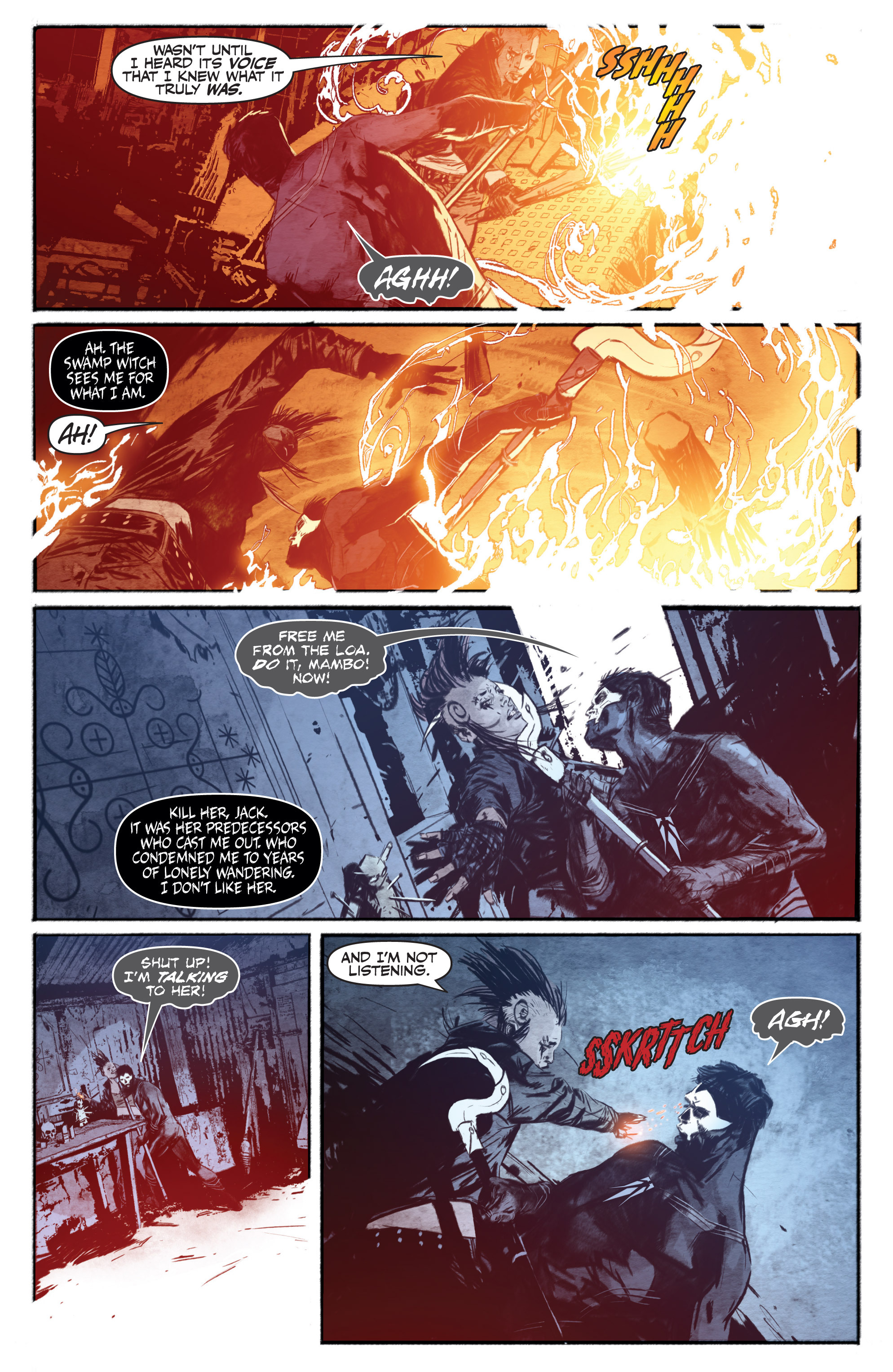 Read online Shadowman (2012) comic -  Issue #13 - 21