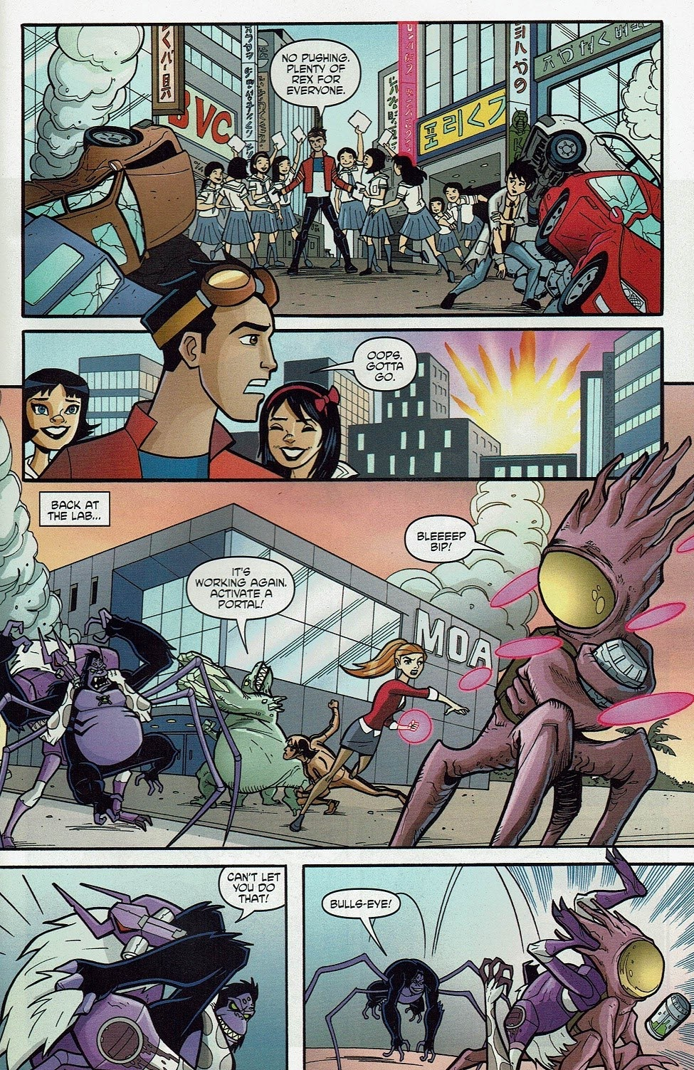 Read online Cartoon Network Action Pack comic -  Issue #65 - 29