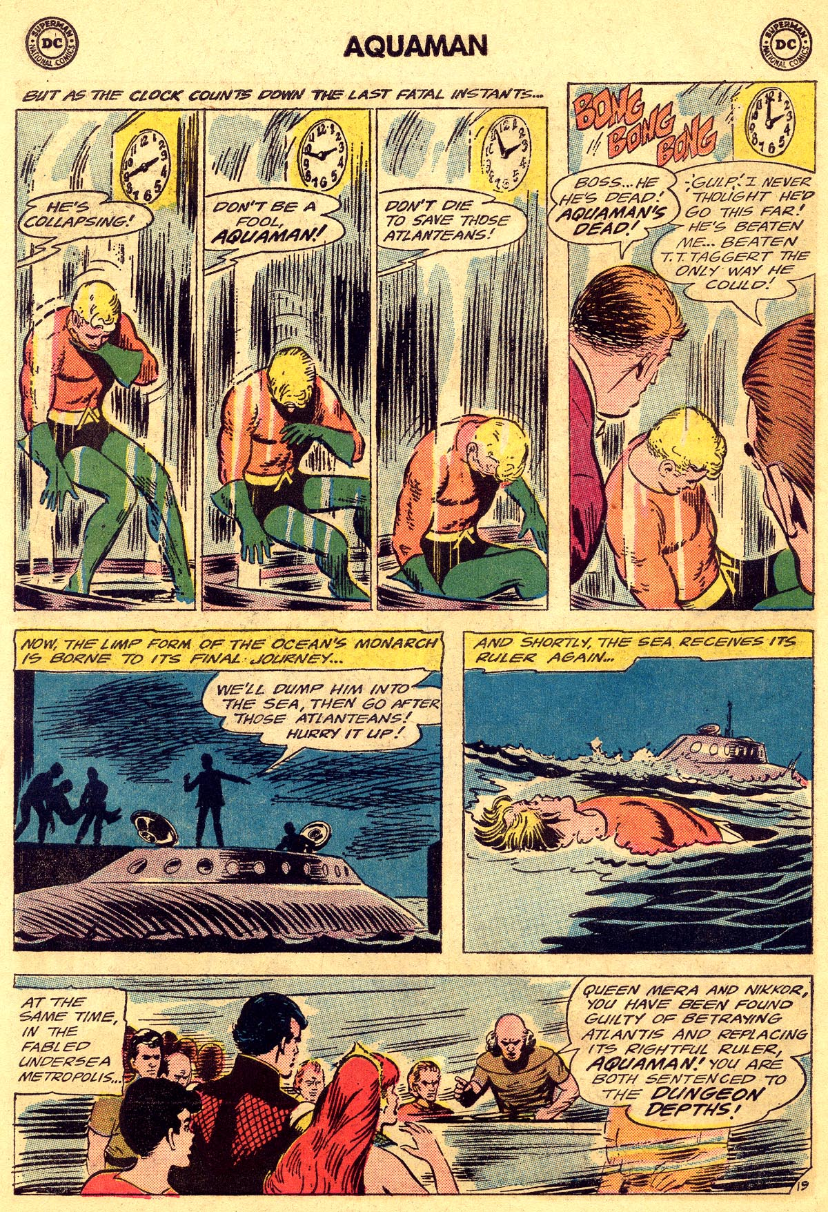 Read online Aquaman (1962) comic -  Issue #19 - 26