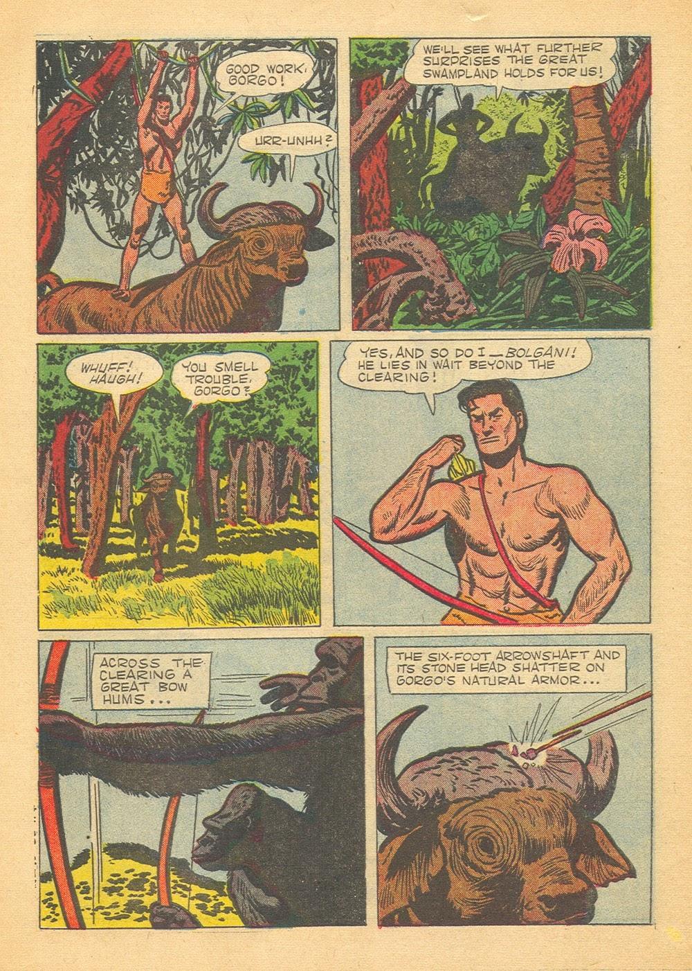 Tarzan (1948) issue 60 - Page 6