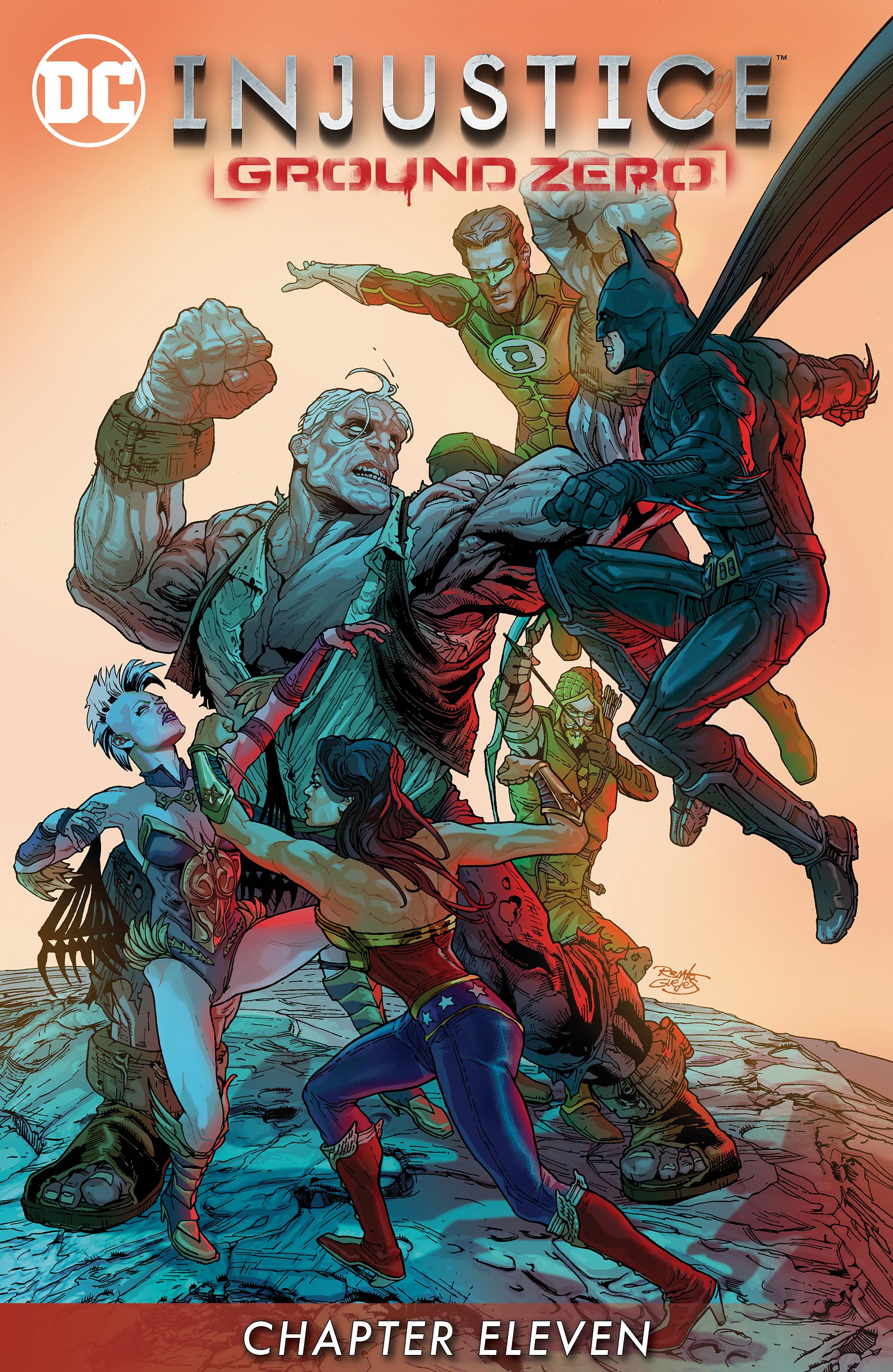Read online Injustice: Ground Zero comic -  Issue #11 - 2