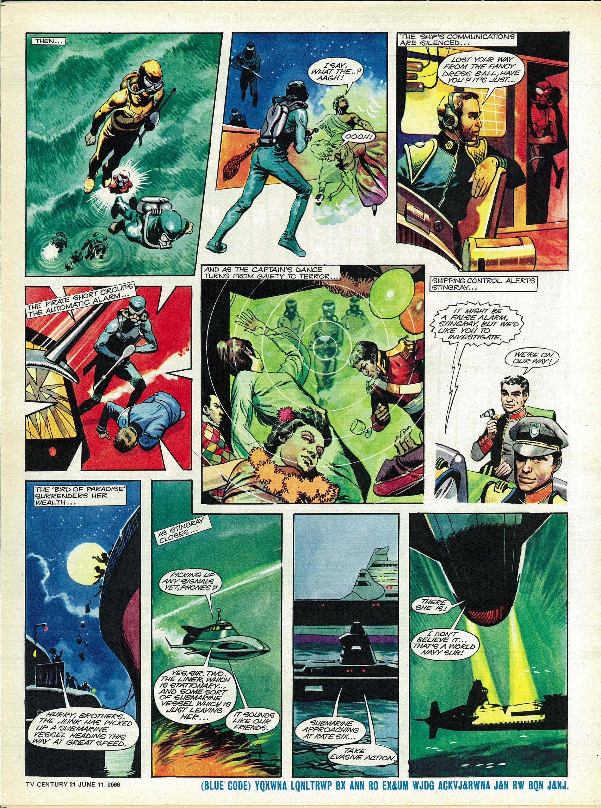 Read online TV Century 21 (TV 21) comic -  Issue #73 - 5