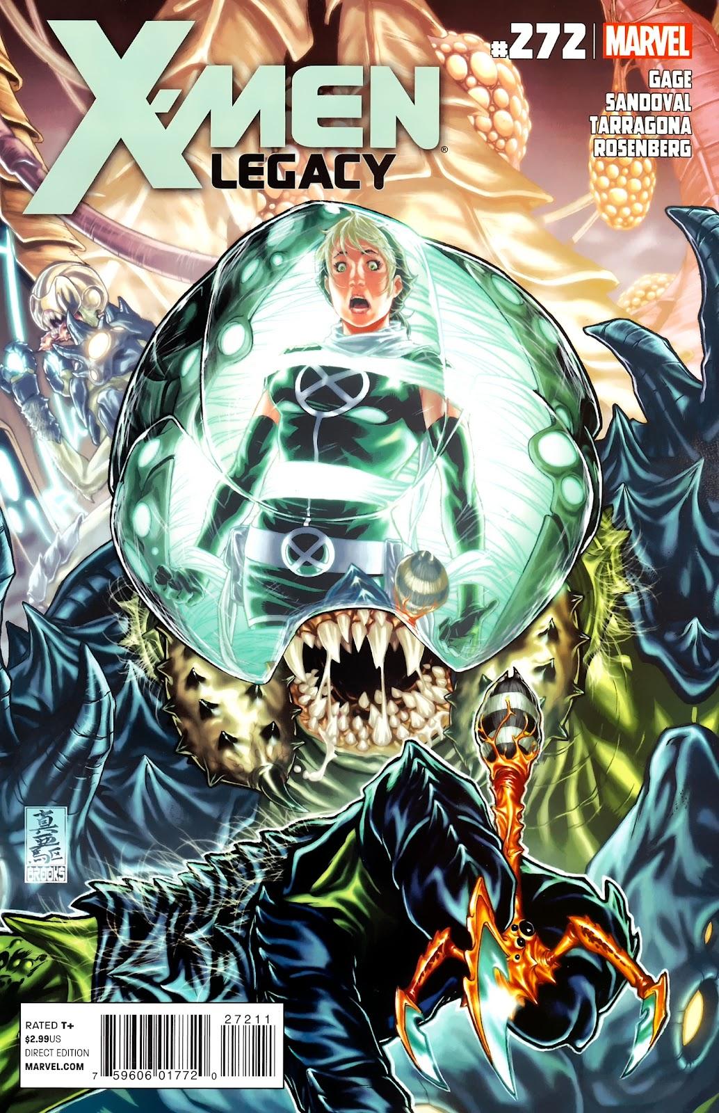 X-Men Legacy (2008) 272 Page 1
