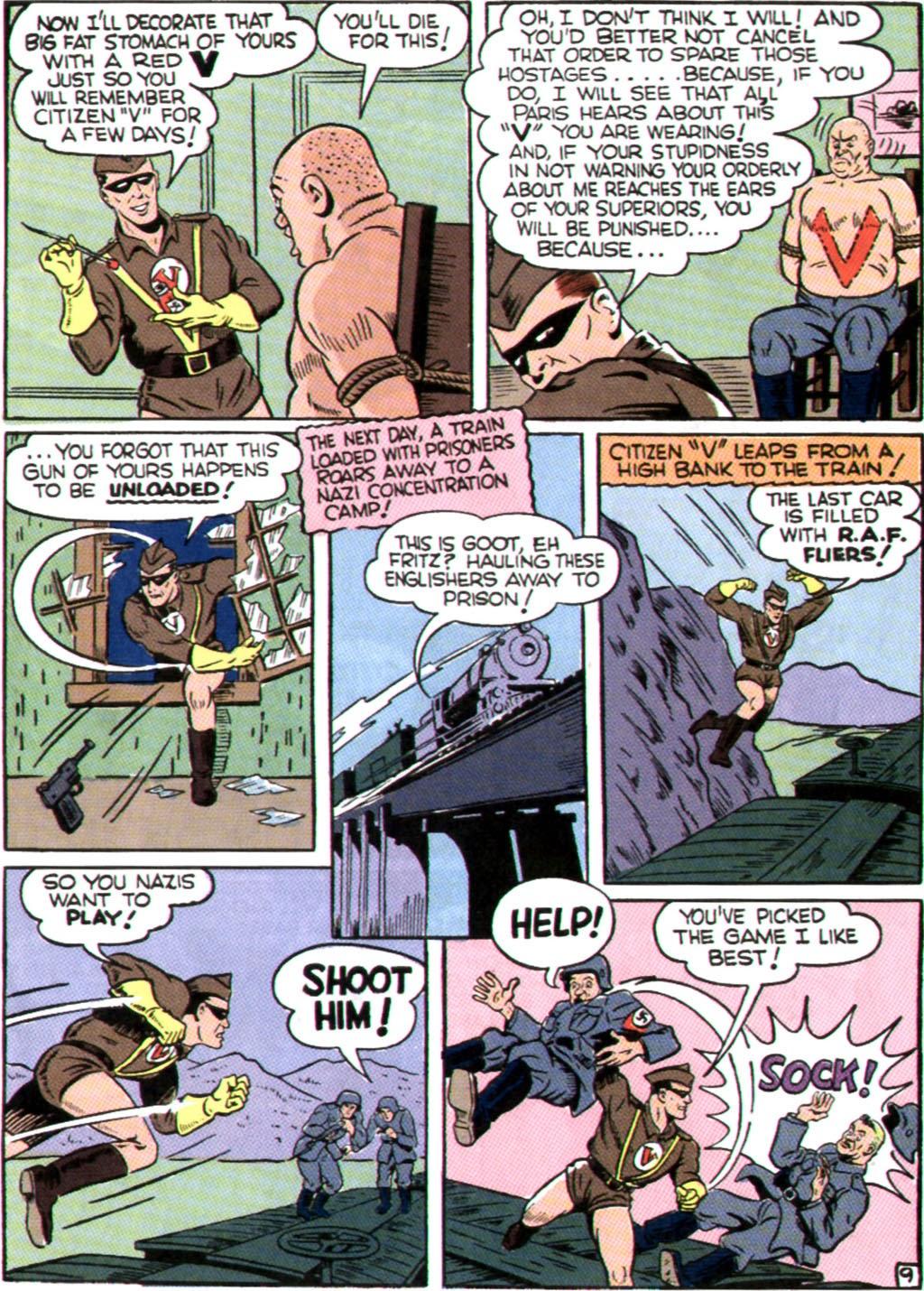 Read online Comedy Comics (1942) comic -  Issue #9 - 28